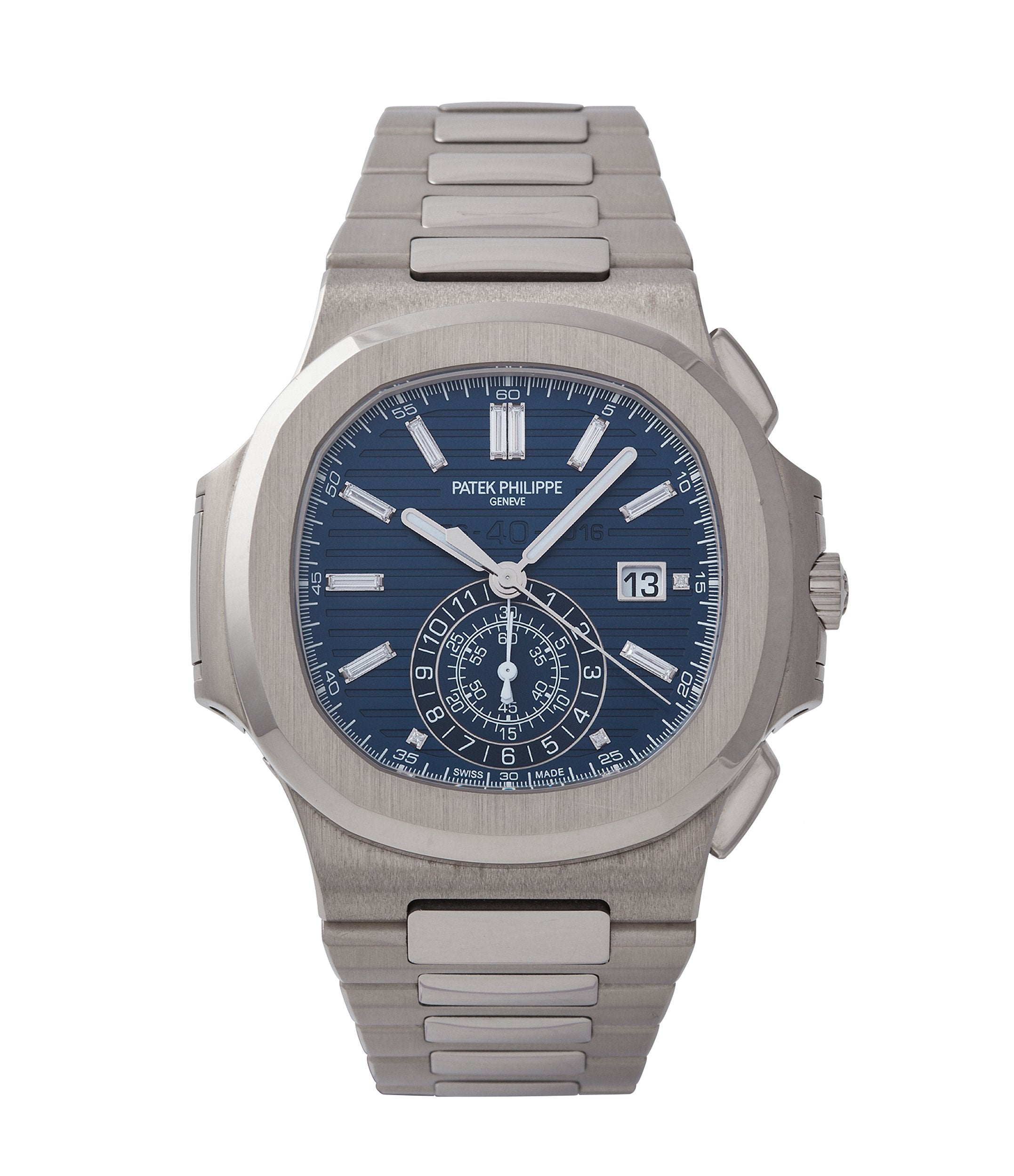 Jumbo Patek Philippe 40th Anniversary Nautilus 5976/1G-001 Limited Edition white gold sports watch for sale online A Collected Man London