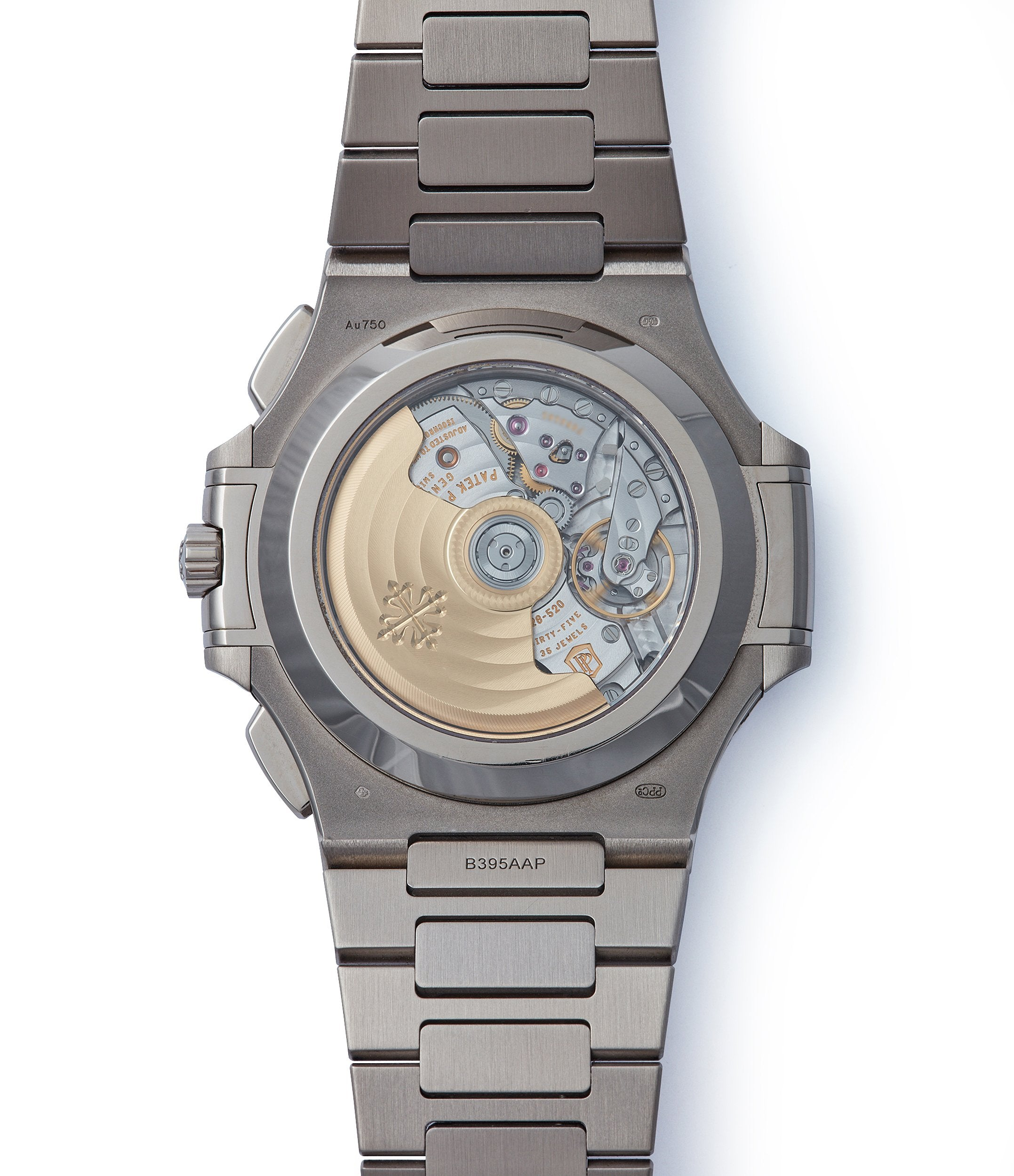 automatic movement Patek Philippe 40th Anniversary Nautilus 5976/1G-001 Limited Edition white gold sports watch for sale online A Collected Man London
