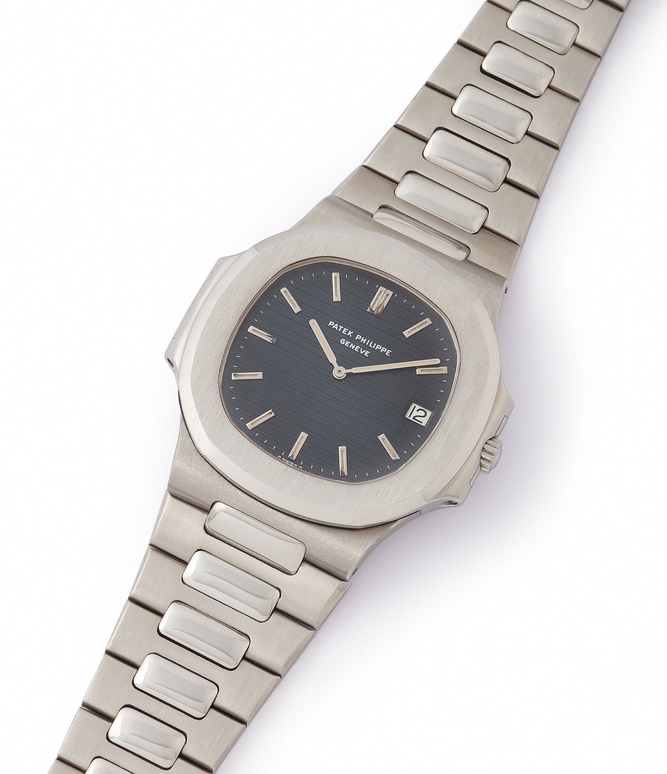 shop vintage Patek Philippe Nautilus 3700/001 full set sport watch for sale online at A Collected Man London UK specialist of rare watches