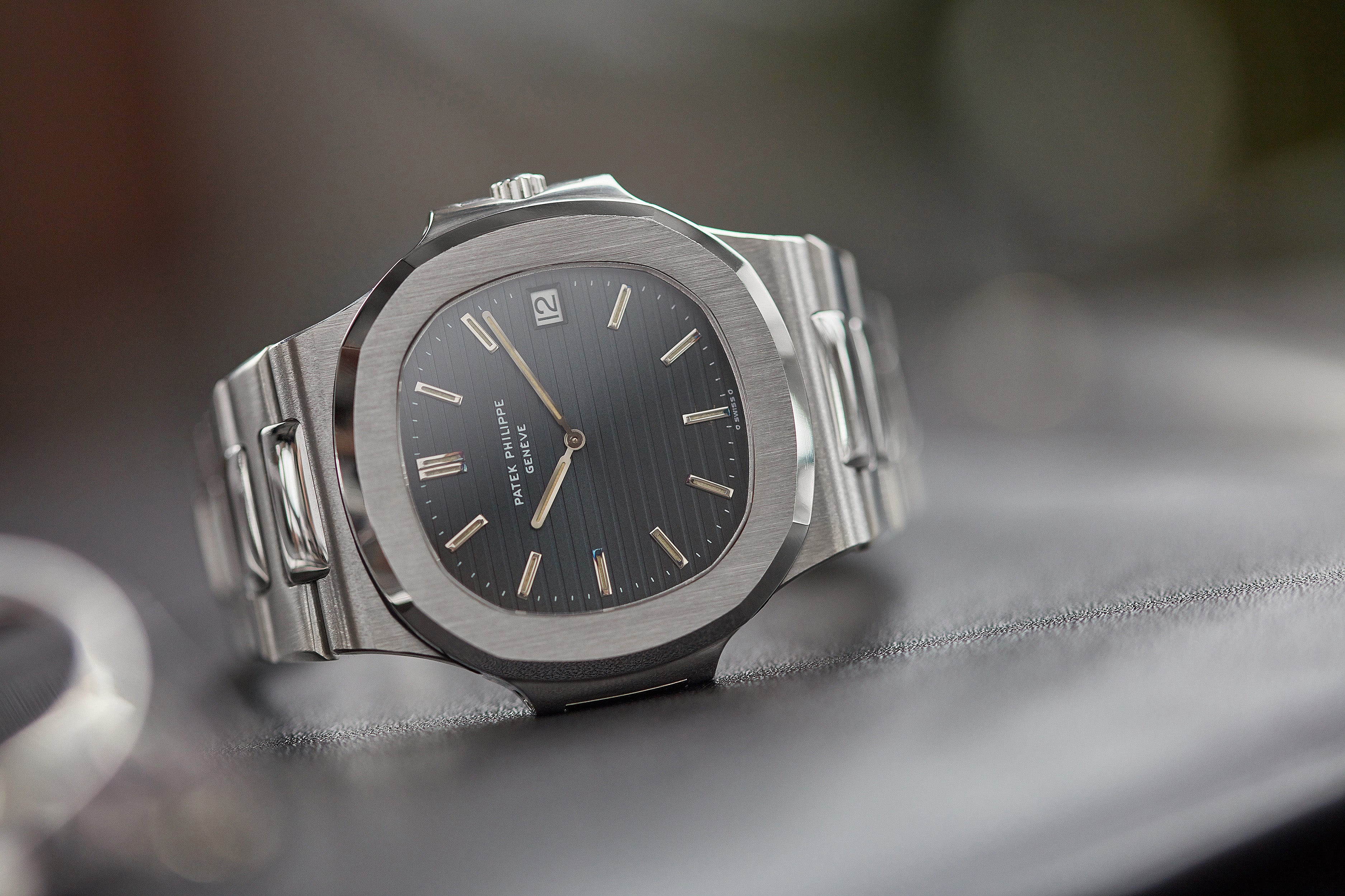 rare Patek Philippe Nautilus 3700-001A full set vintage watch for sale online at A Collected Man London UK specialist of rare watches