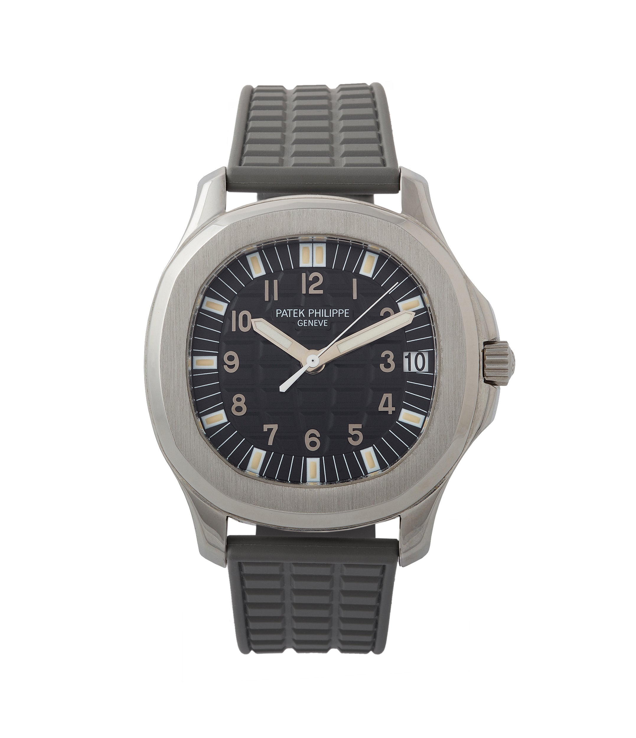 buy Patek Philippe Aquanaut 5065/1A-010 Jumbo steel sport pre-owned watch for sale online at A Collected Man London UK specialist of rare watches