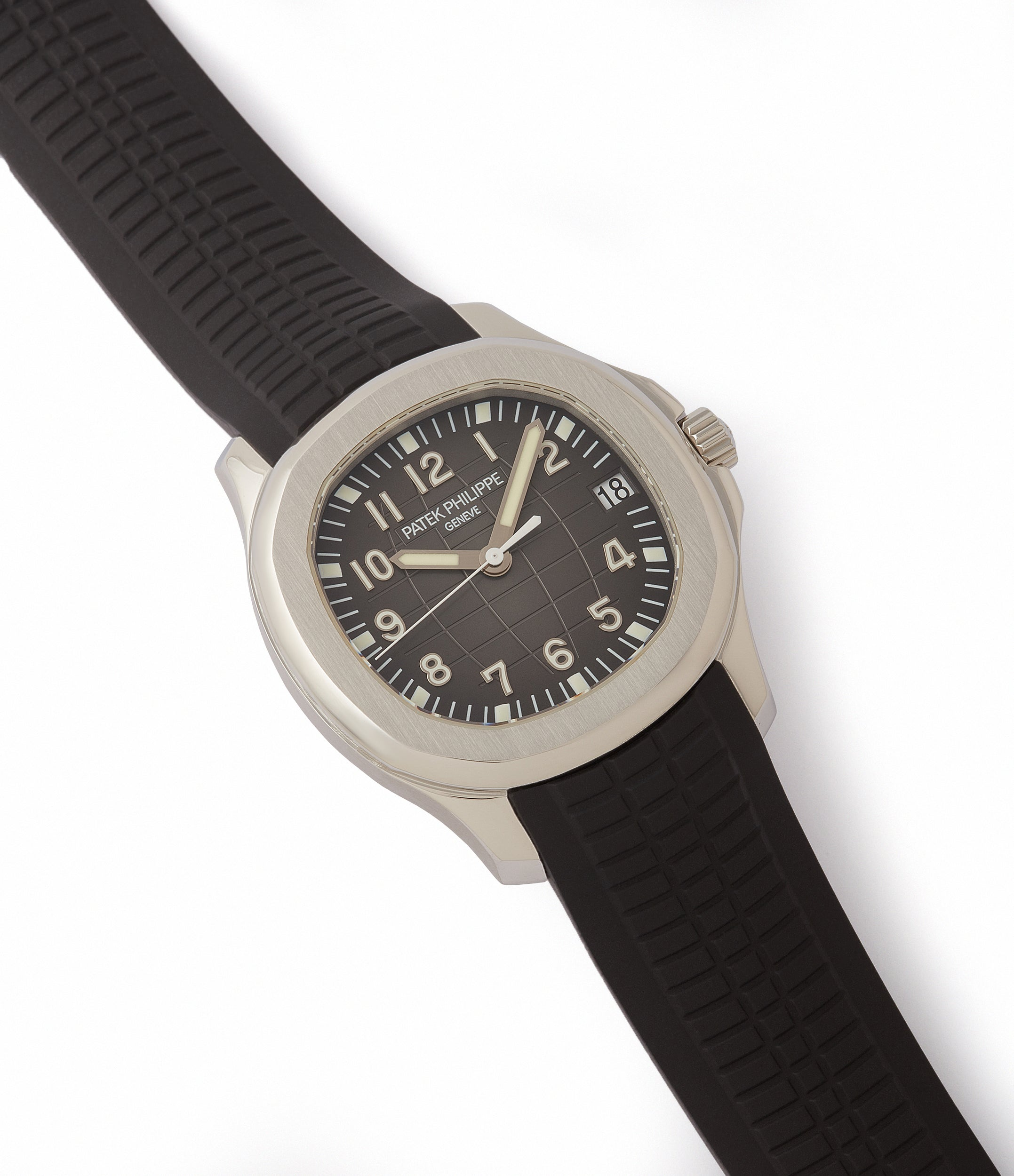 sell Patek Philippe Aquanaut 5165A-001 transitional steel sport watch for sale online at A Collected Man London UK specialist of rare watches