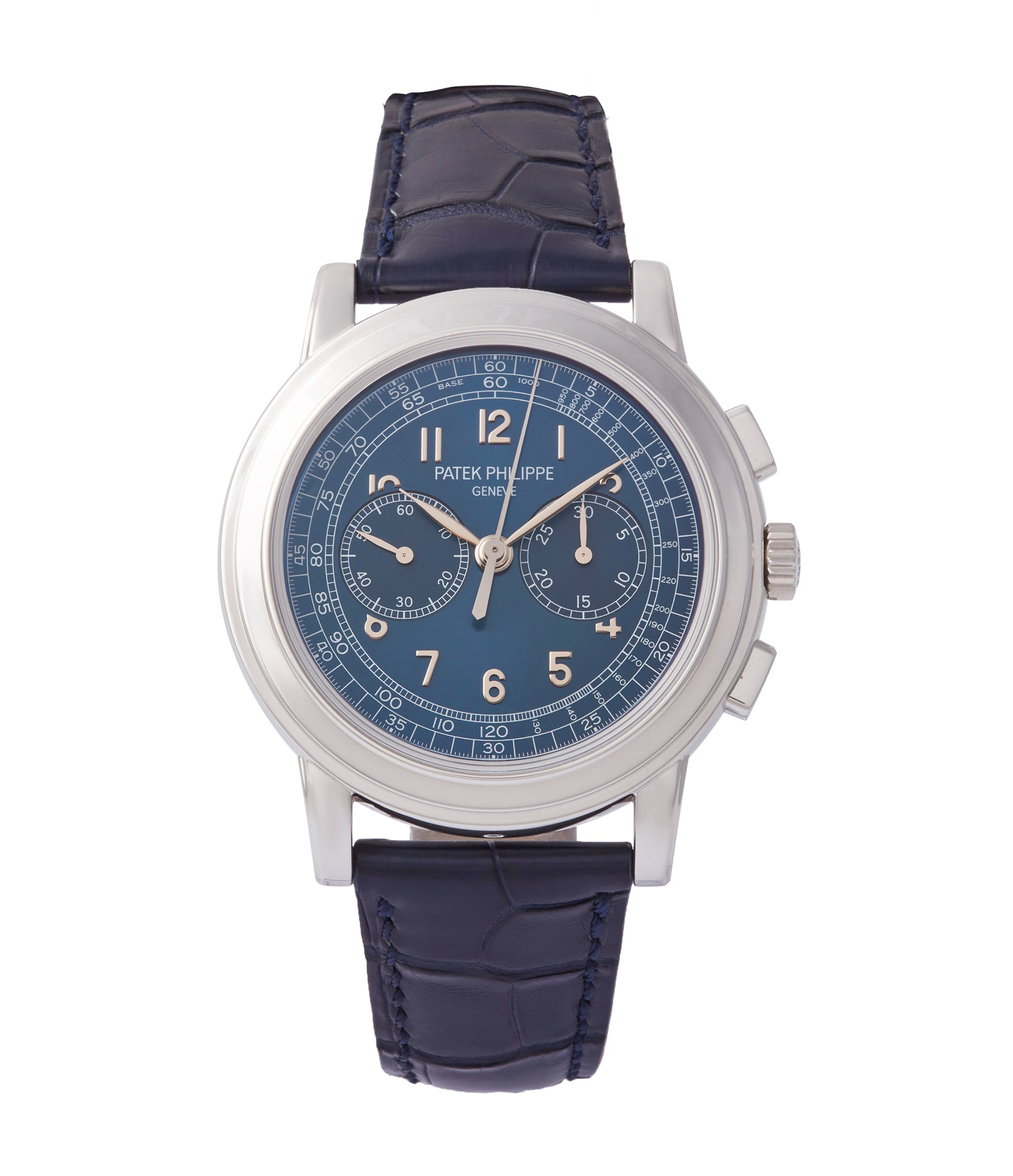 buy Patek Philippe 5070P Saatchi Limited Edition blue dial platinum pre-owned watch for sale online A Collected Man London UK specialist of rare watches
