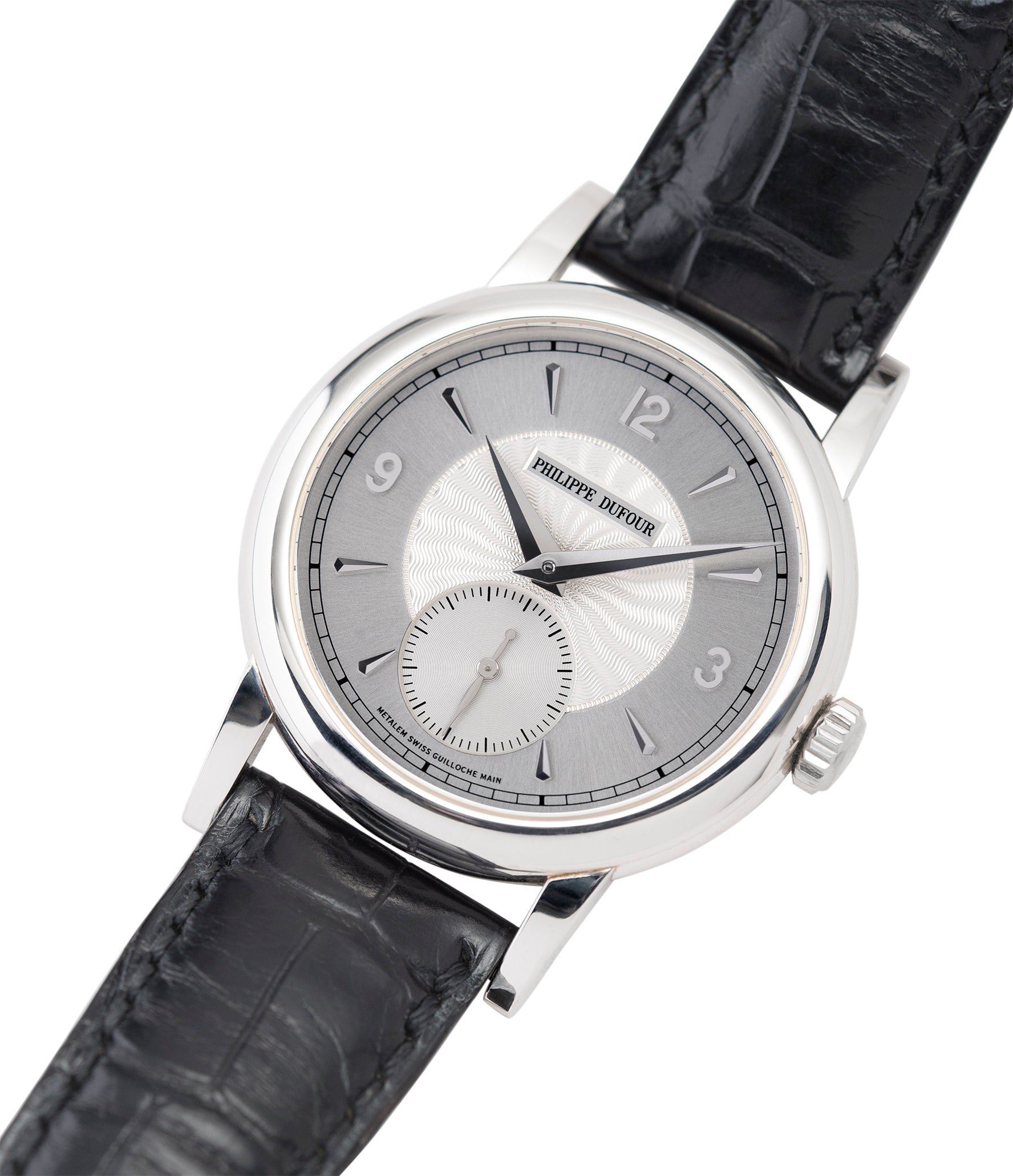 selling Philippe Dufour Simplicity platinum time-only dress watch for sale online at A Collected Man London UK approved specialist of preowned independent watchmakers