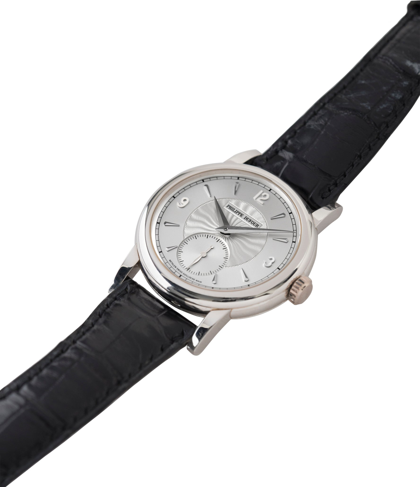 Simplicity watch for sale by Philippe Dufour platinum time-only dress watch for sale online at A Collected Man London UK approved specialist of preowned independent watchmakers
