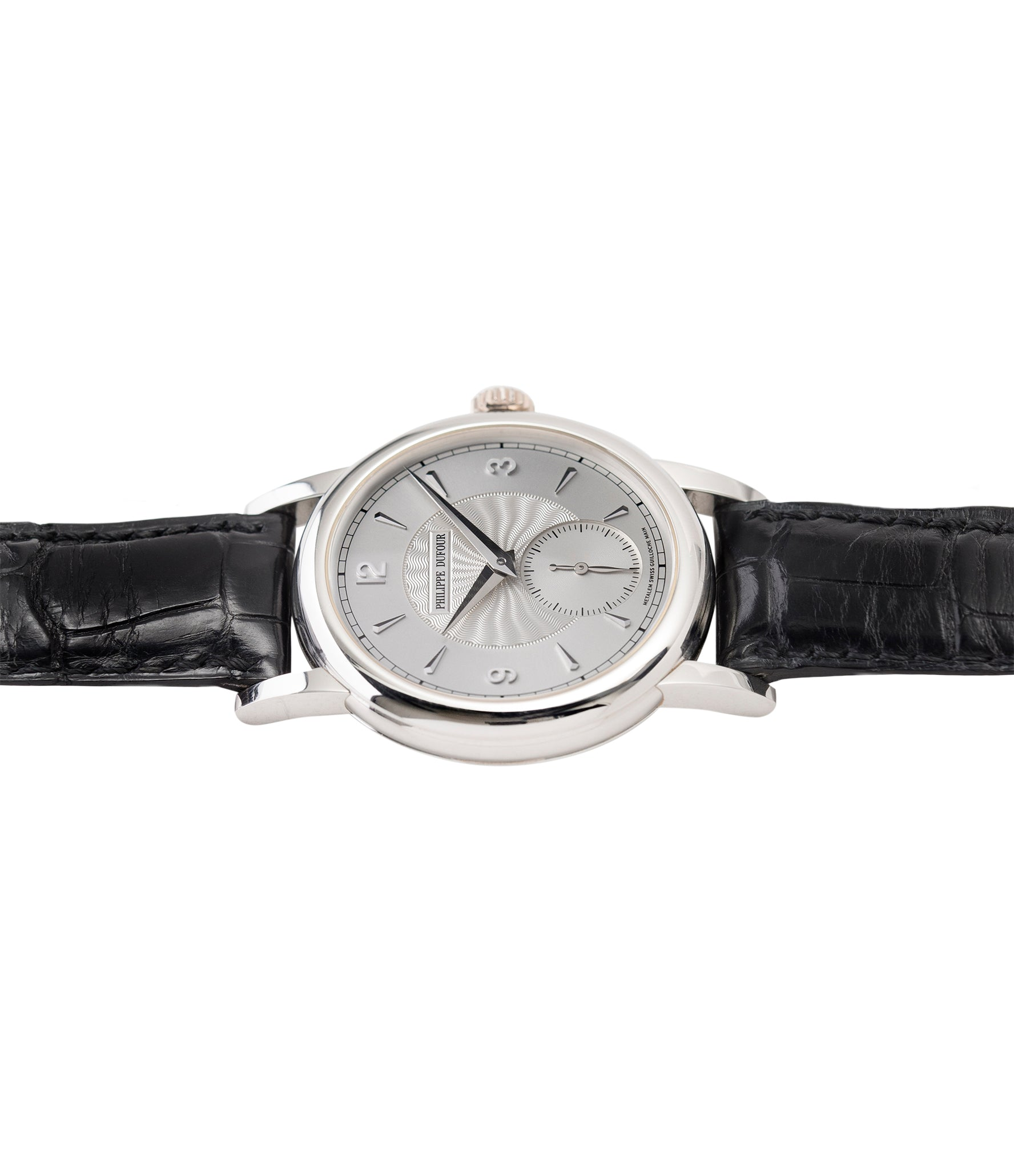 buy Simplicity watch by Philippe Dufour platinum time-only dress watch for sale online at A Collected Man London UK approved specialist of preowned independent watchmakers