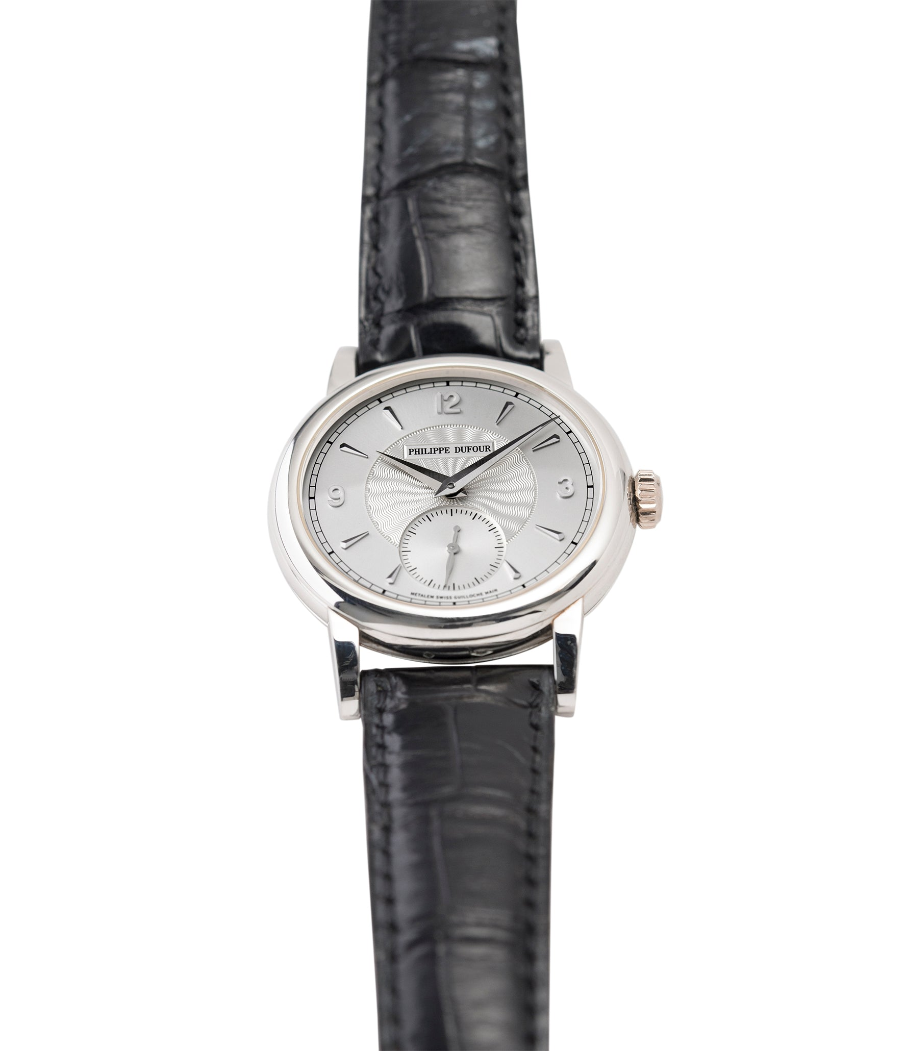 selling Simplicity watch by Philippe Dufour platinum time-only dress watch for sale online at A Collected Man London UK approved specialist of preowned independent watchmakers