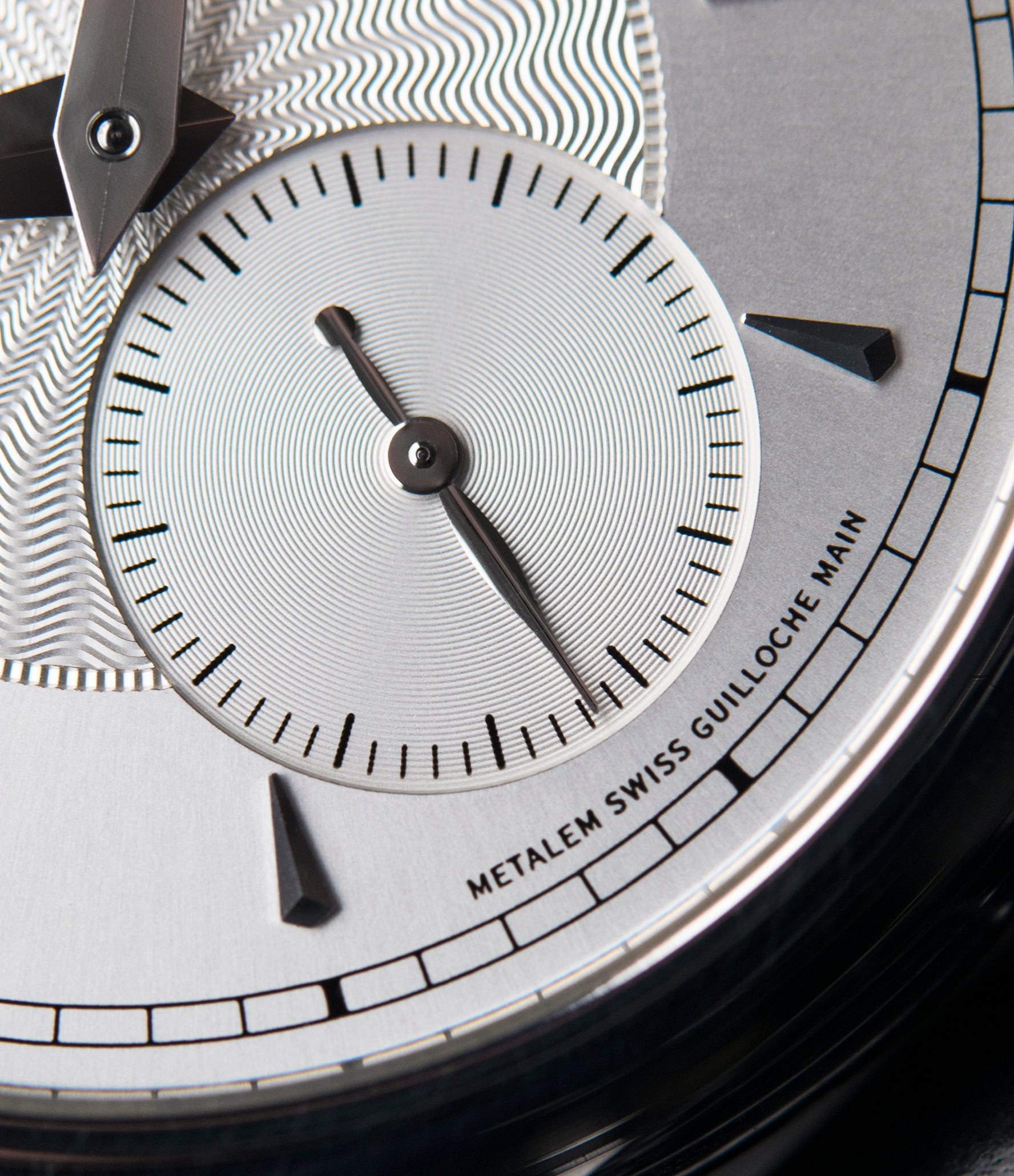 silver dial Philippe Dufour Simplicity platinum time-only dress watch for sale online at A Collected Man London UK approved specialist of preowned independent watchmakers