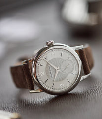 rare Philippe Dufour Simplicity platinum 37mm time-only rare dress watch  for sale at A Collected Man London UK specialist of rare watches