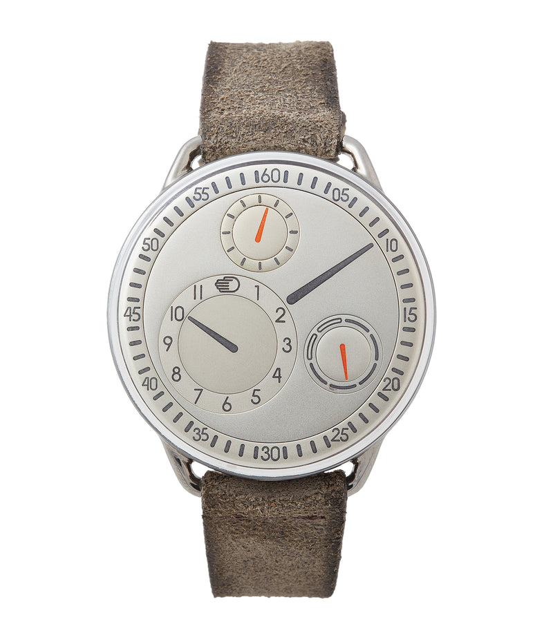 buy pre-owned Ressence Type 1W white independent watchmaker for sale online at A Collected Man London UK specialist of rare watches