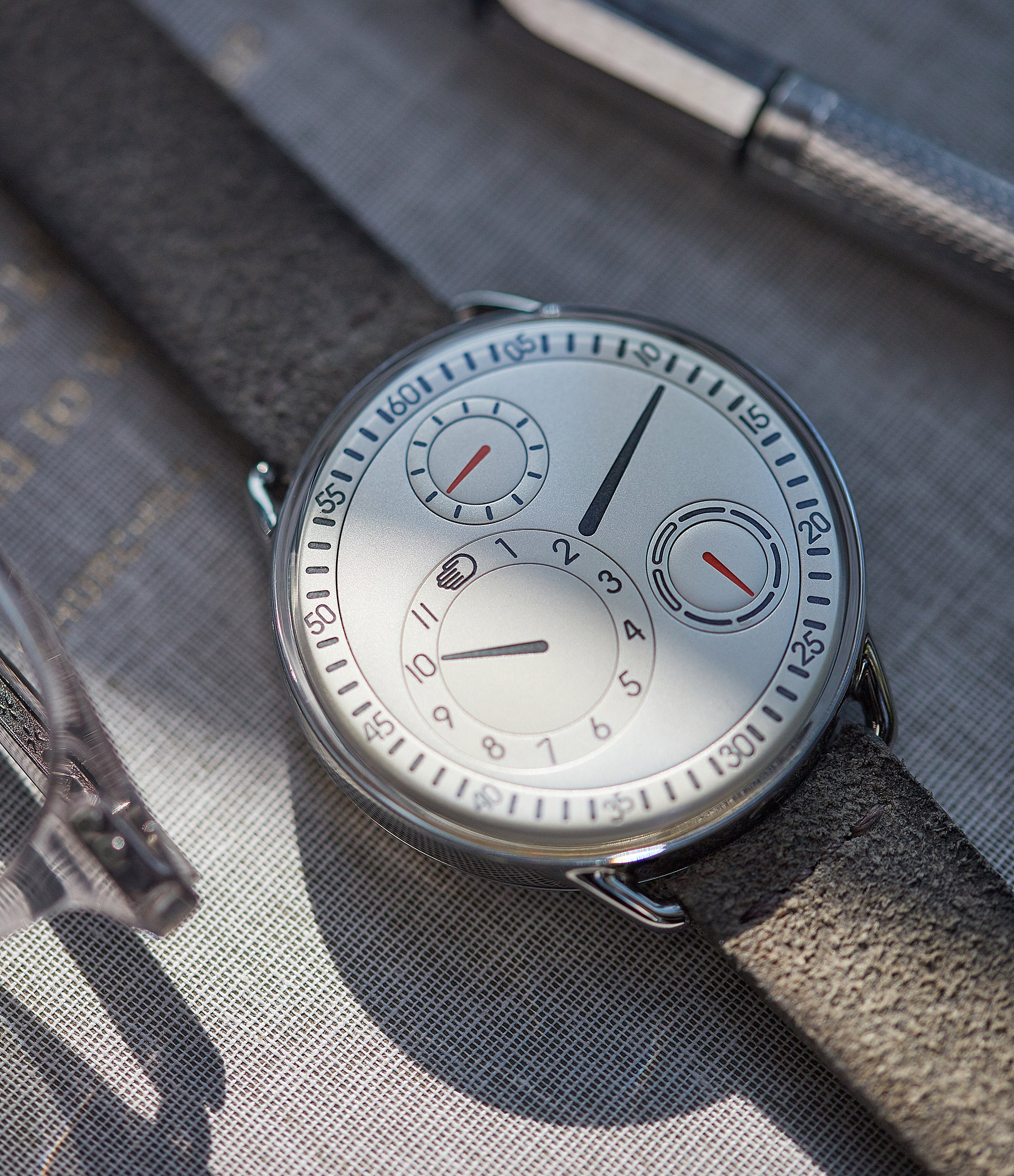Ressence Type 1W white independent watchmaker for sale online at A Collected Man London UK specialist of rare watches