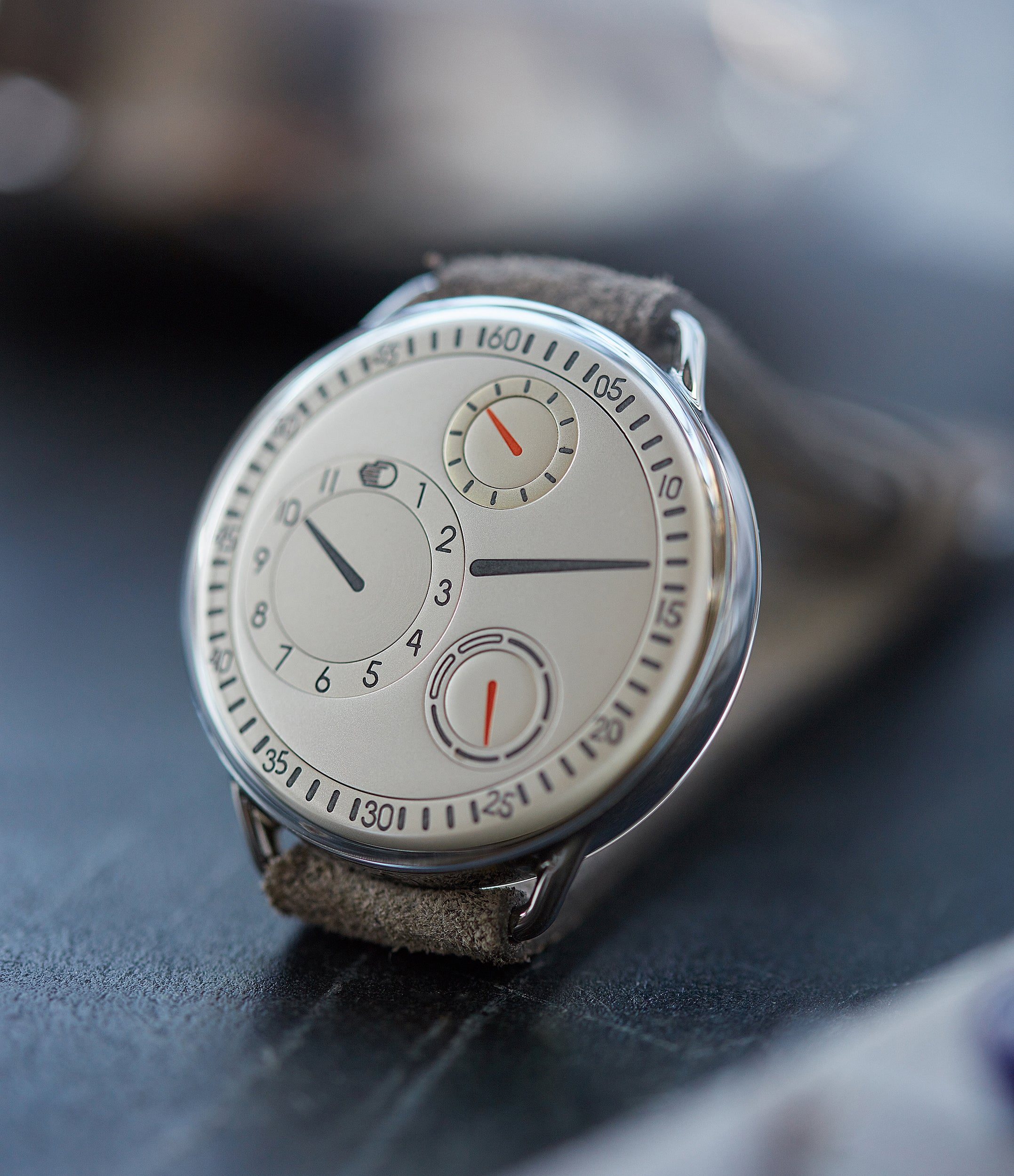 independent watchmaker Ressence Type 1W white for sale online at A Collected Man London UK specialist of rare watches