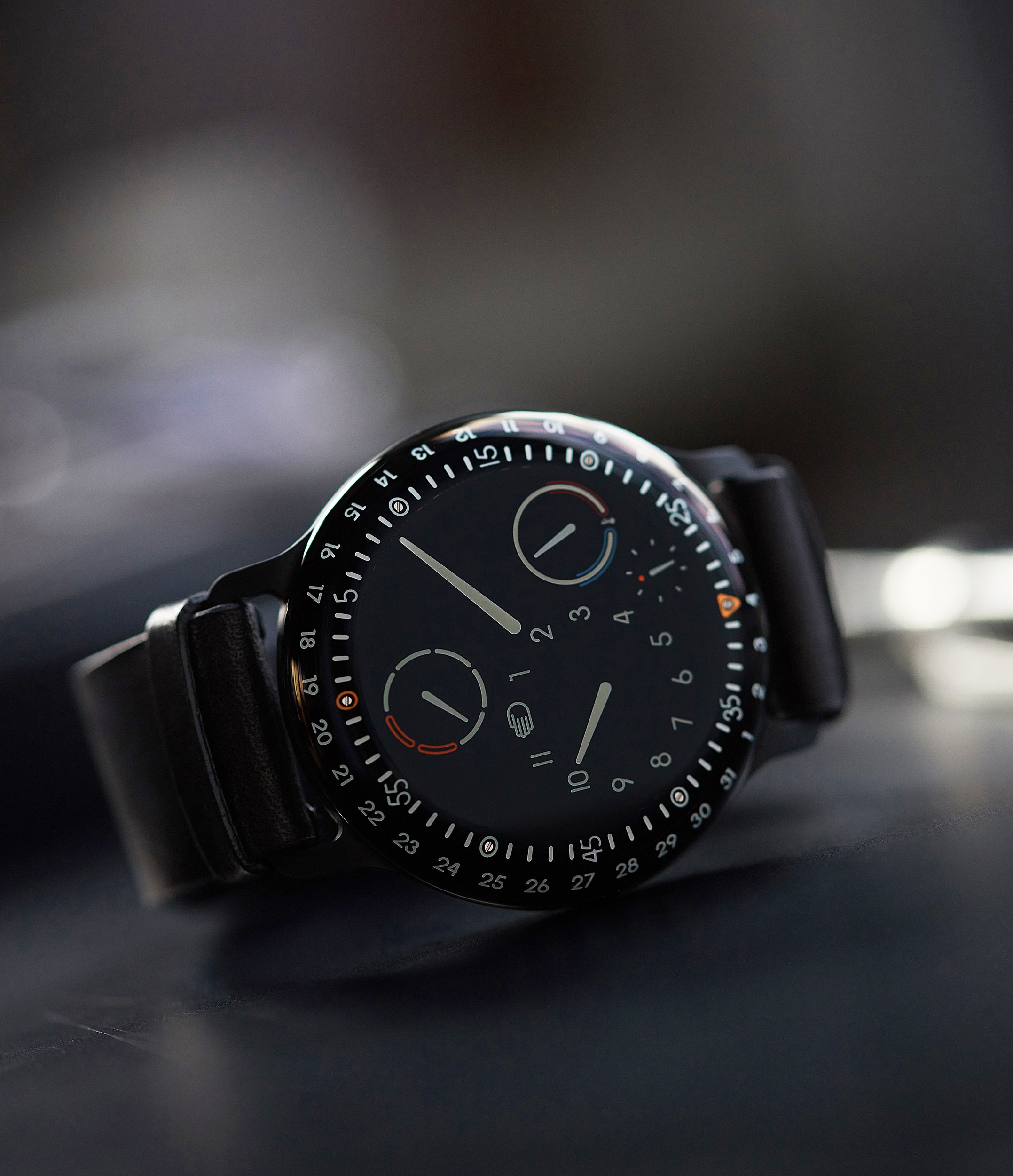 Shop latest Ressence watch Type 3 with distinctive orbital dial construct at A Collected Man London