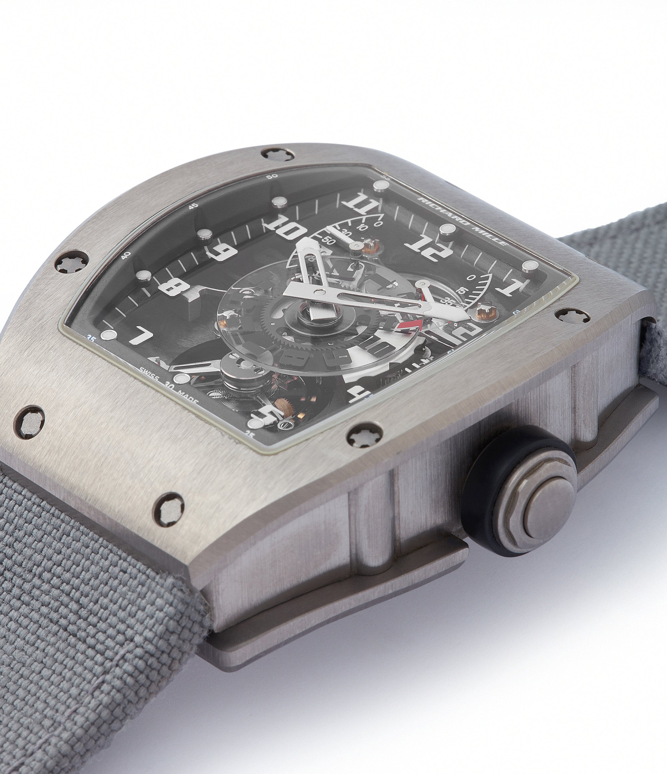 for sale Richard Mille RM003-V2 titanium tourbillon dual-time pre-owned rare independent watchmaker sports traveller watch for sale online at A Collected Man London UK specialist of rare watches