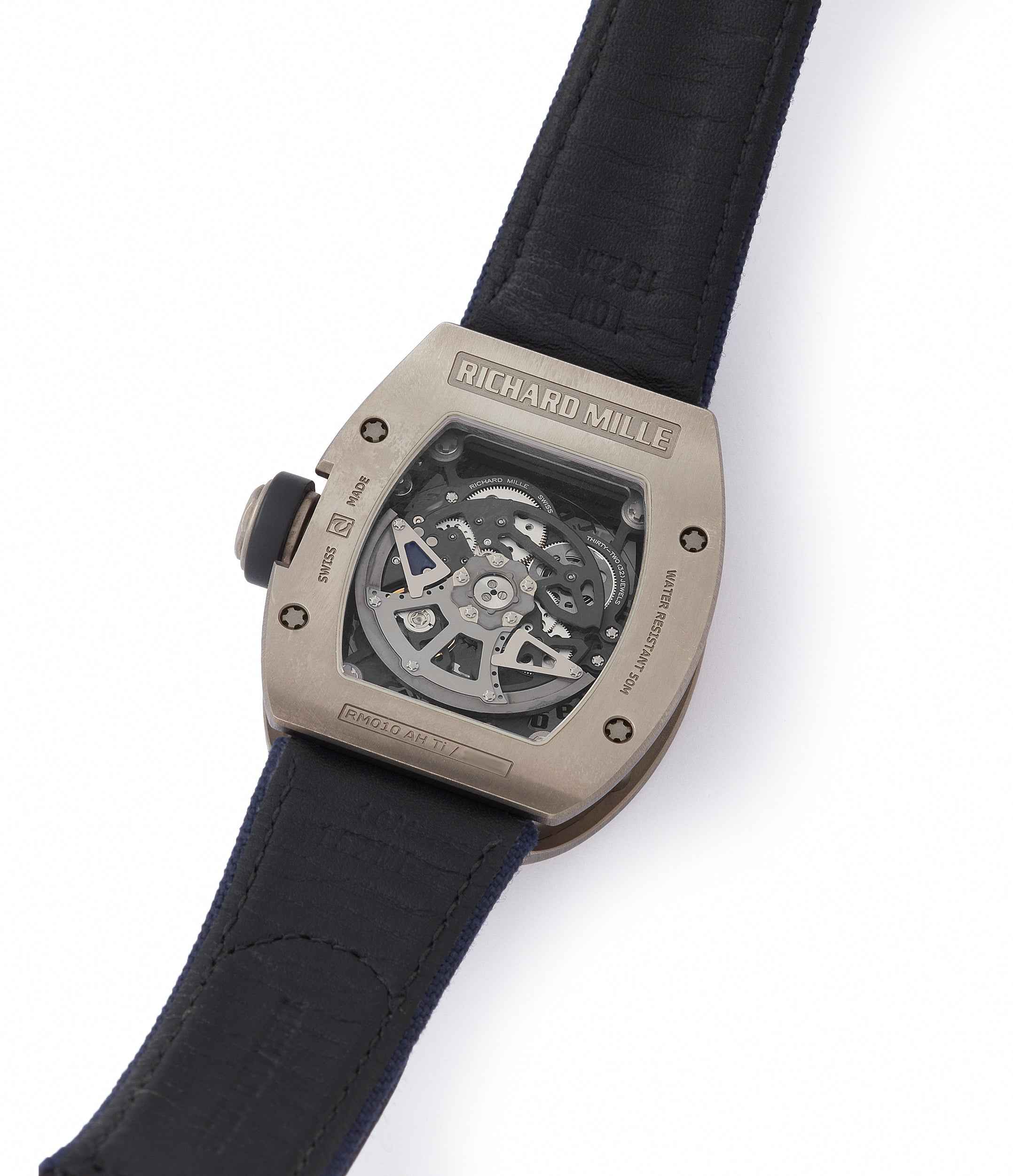 collect Richard Mille RM010 titanium rare luxury sport watch by independent watchmaker for sale online at A Collected Man London UK specialist of rare watches