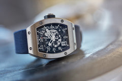 rare Richard Mille watch RM010  titanium rare luxury sport watch by independent watchmaker for sale online at A Collected Man London UK specialist of rare watches