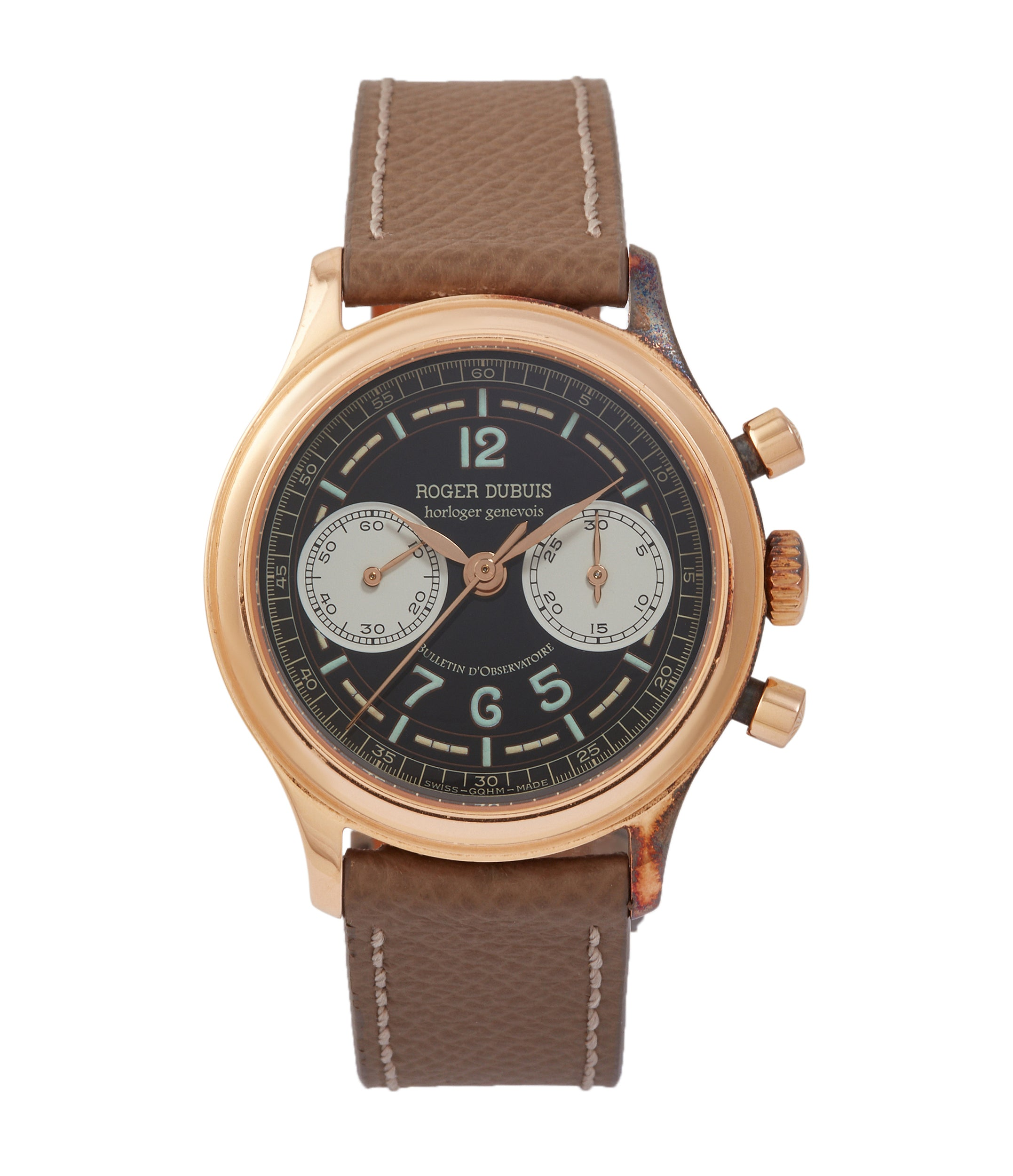 Hommage Chronograph | H34 | rose gold