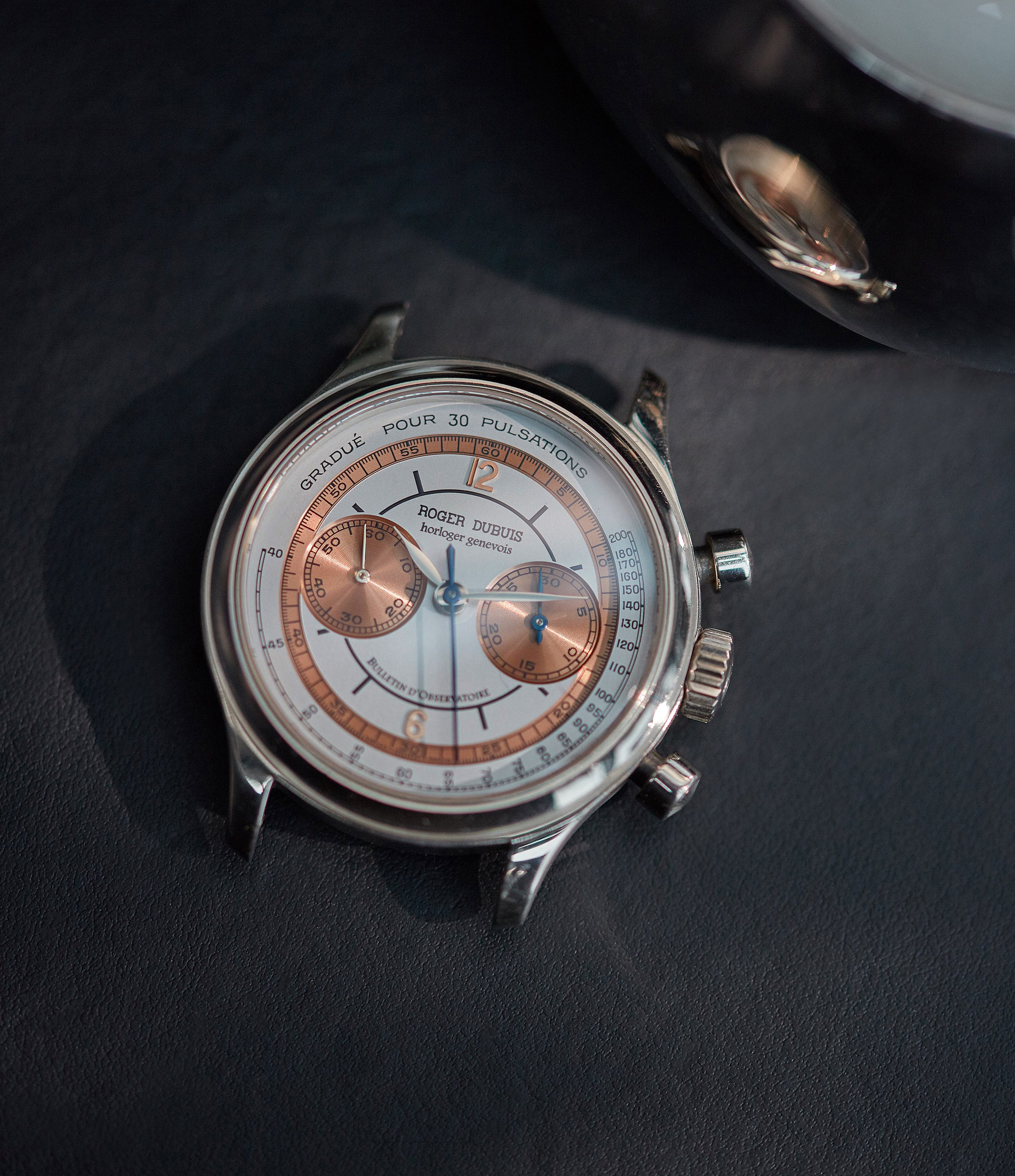 Hommage Chronograph | H37 | white gold