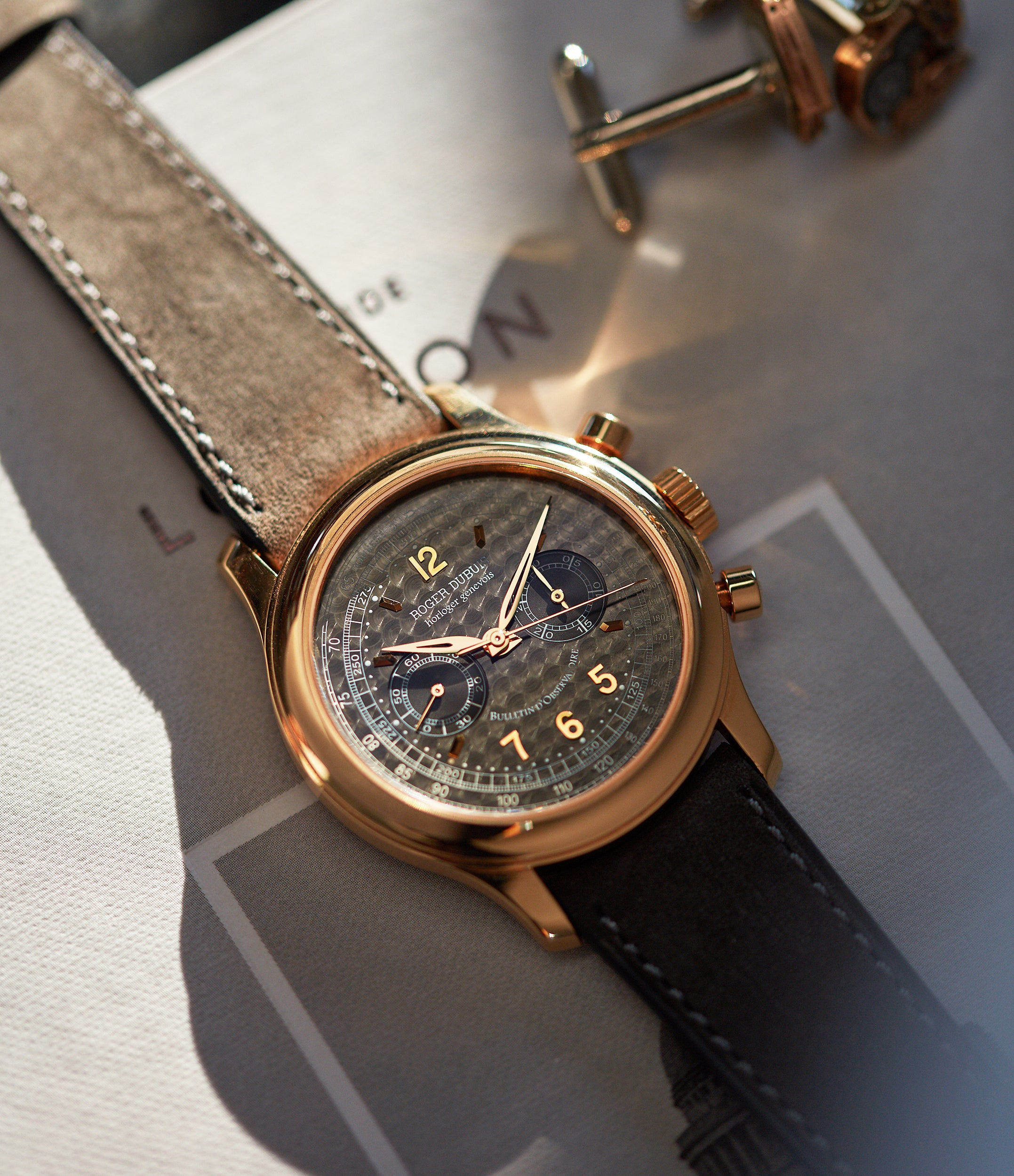 Hommage Chronograph | H40 560 | Rose Gold