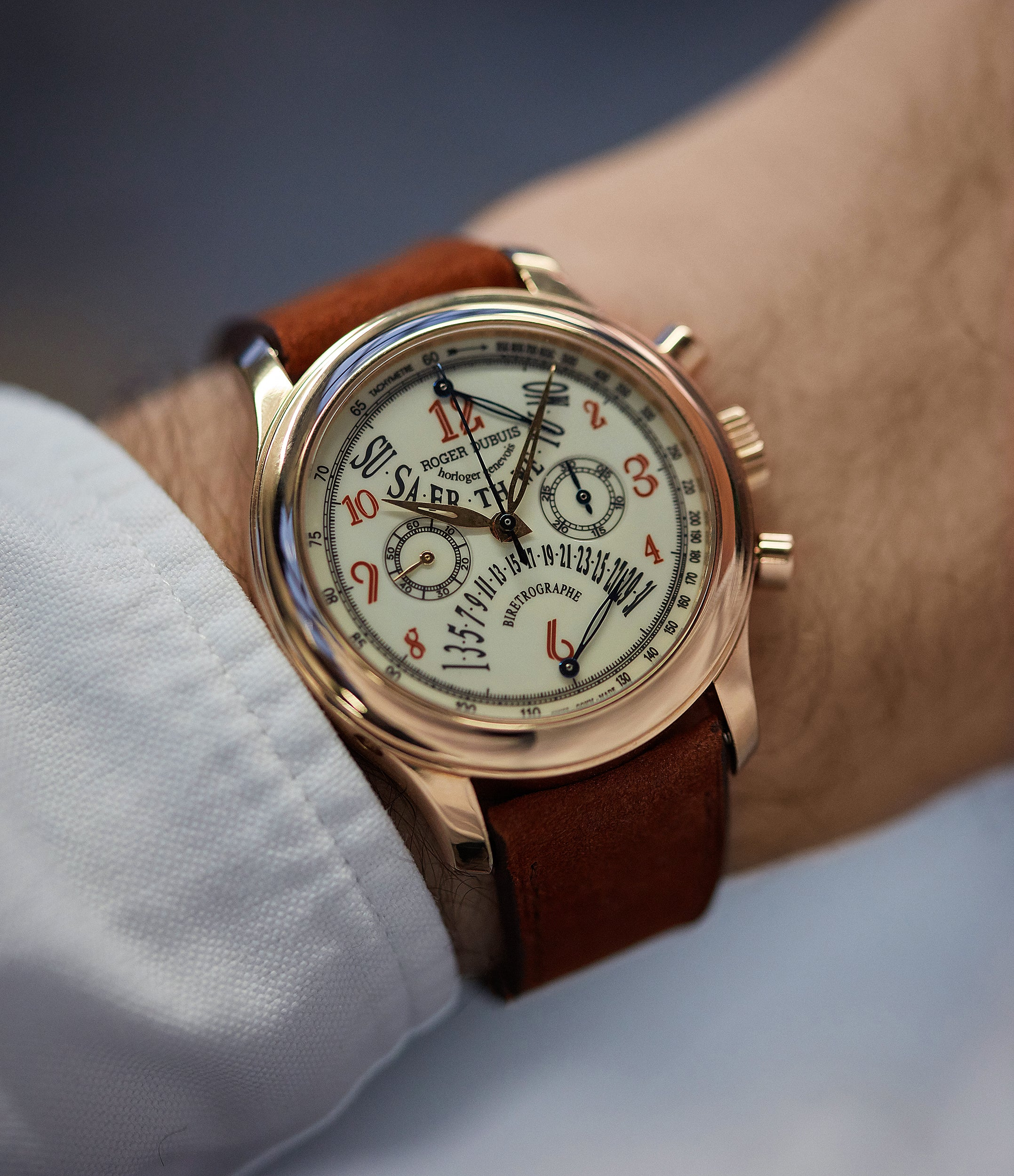 Hommage Chronograph | Bi-Retrograde | rose gold