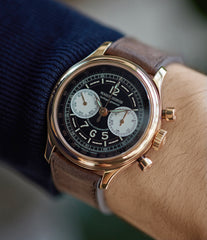 Hommage Chronograph | H37 560 Series | rose gold