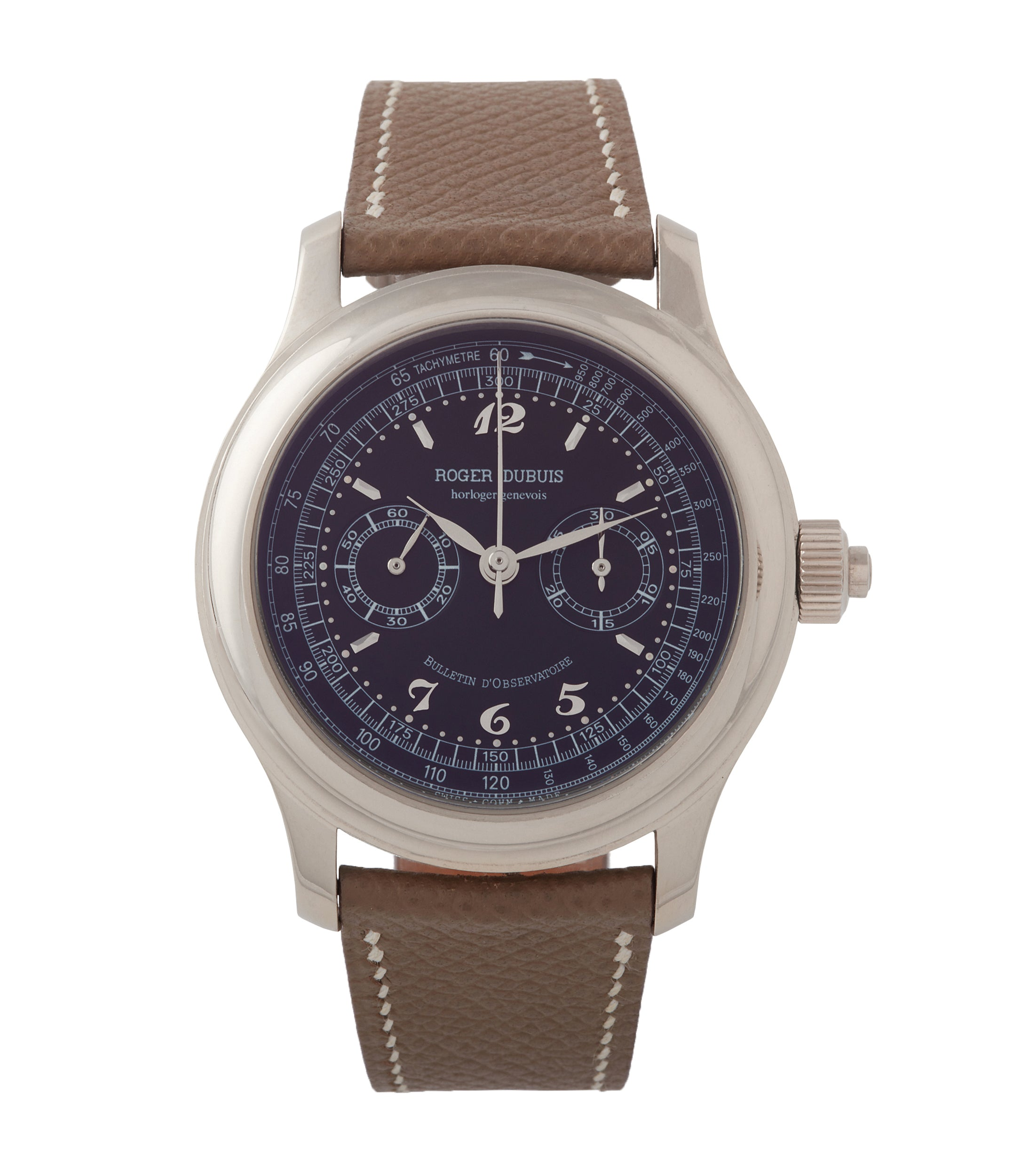 Hommage Chronograph | Monopoussoir | White Gold