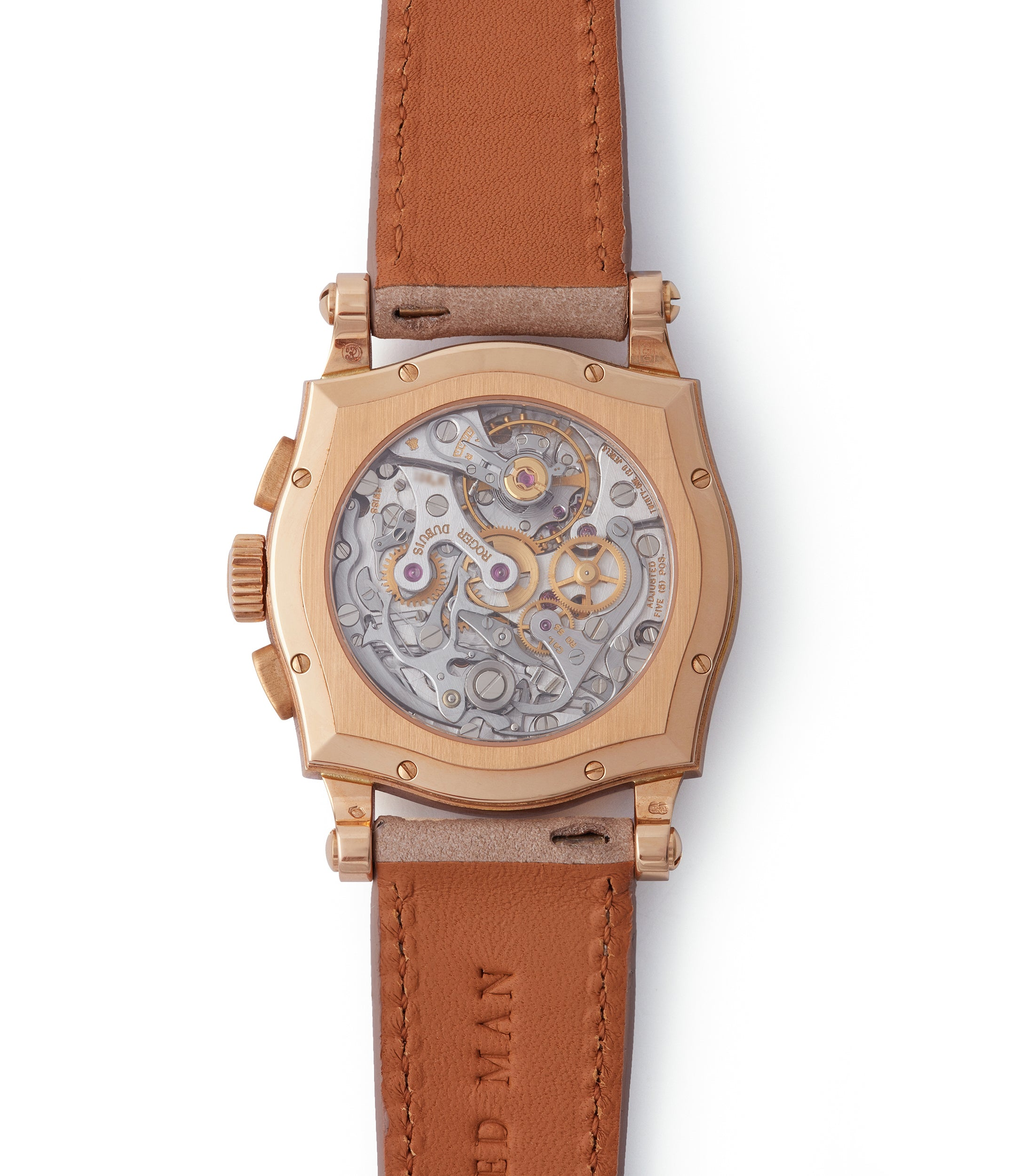 RD56 manual-winding Roger Dubuis Sympathie Chronograph S37 56 0 rose gold dress watch for sale online at A Collected Man London UK specialist of independent watchmakers
