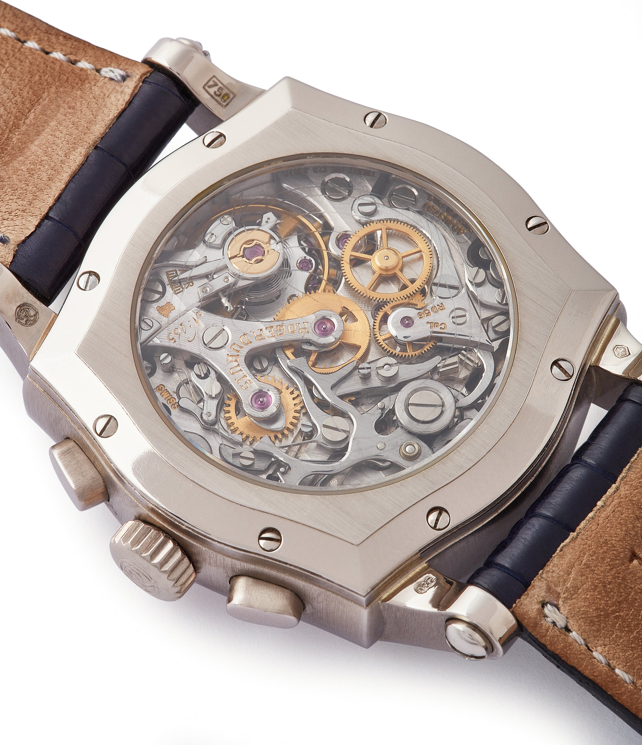 RD 56 Sympathie Chronograph Roger Dubuis S37 Limited Edition white gold dress watch from independent watchmaker for sale online at A Collected Man London UK specialist of rare watches