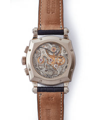 Sympathie Chronograph RD 56 mechanical manual-winding movement hand-finished by Roger Dubuis independent watchmaker