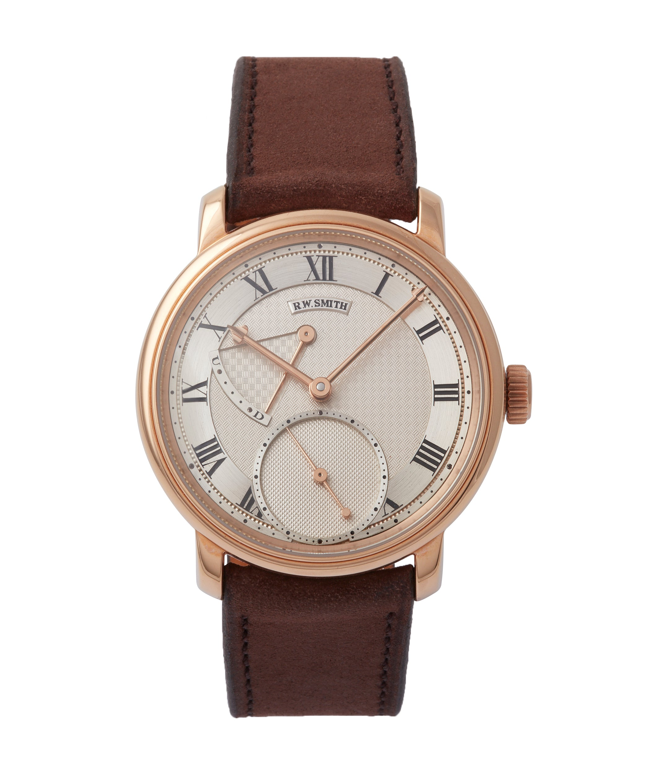 buy Roger Smith Series 2 rose gold time-only dress watch British for sale online A Collected Man London
