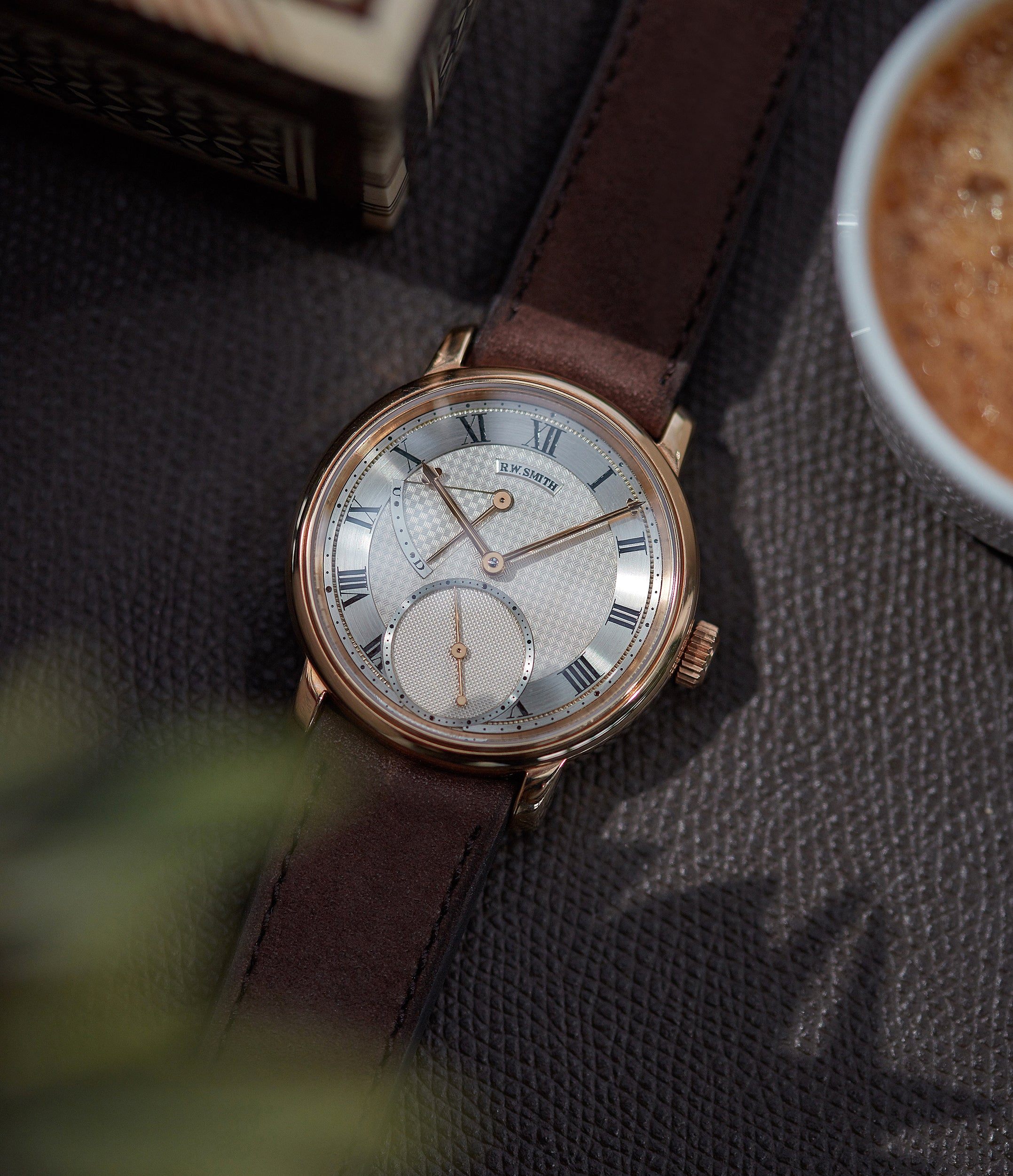 Series II Roger Smith rose gold time-only dress watch British for sale online A Collected Man London