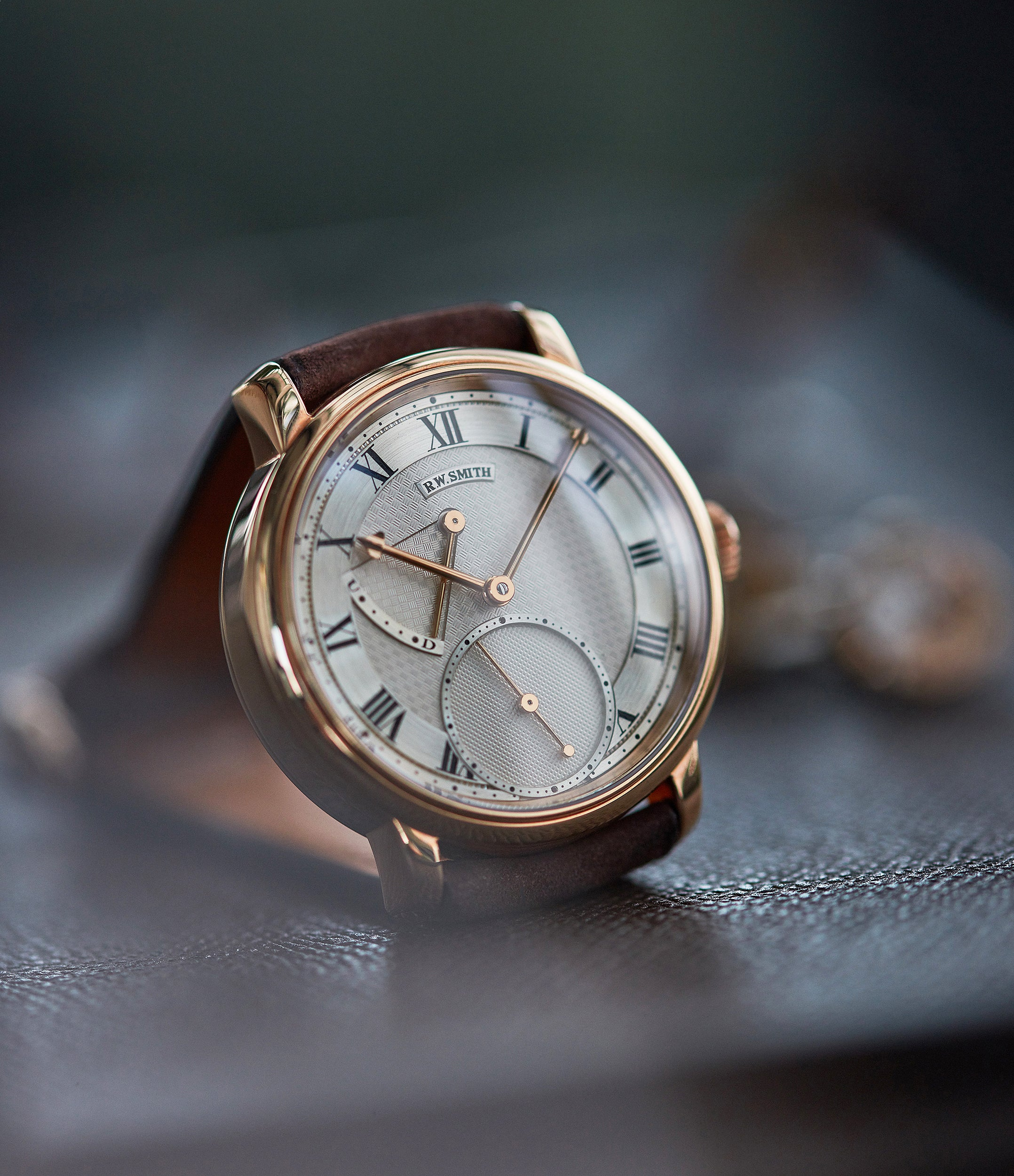 Co-Axial escapement Roger Smith Series 2 rose gold time-only dress watch British for sale online A Collected Man London