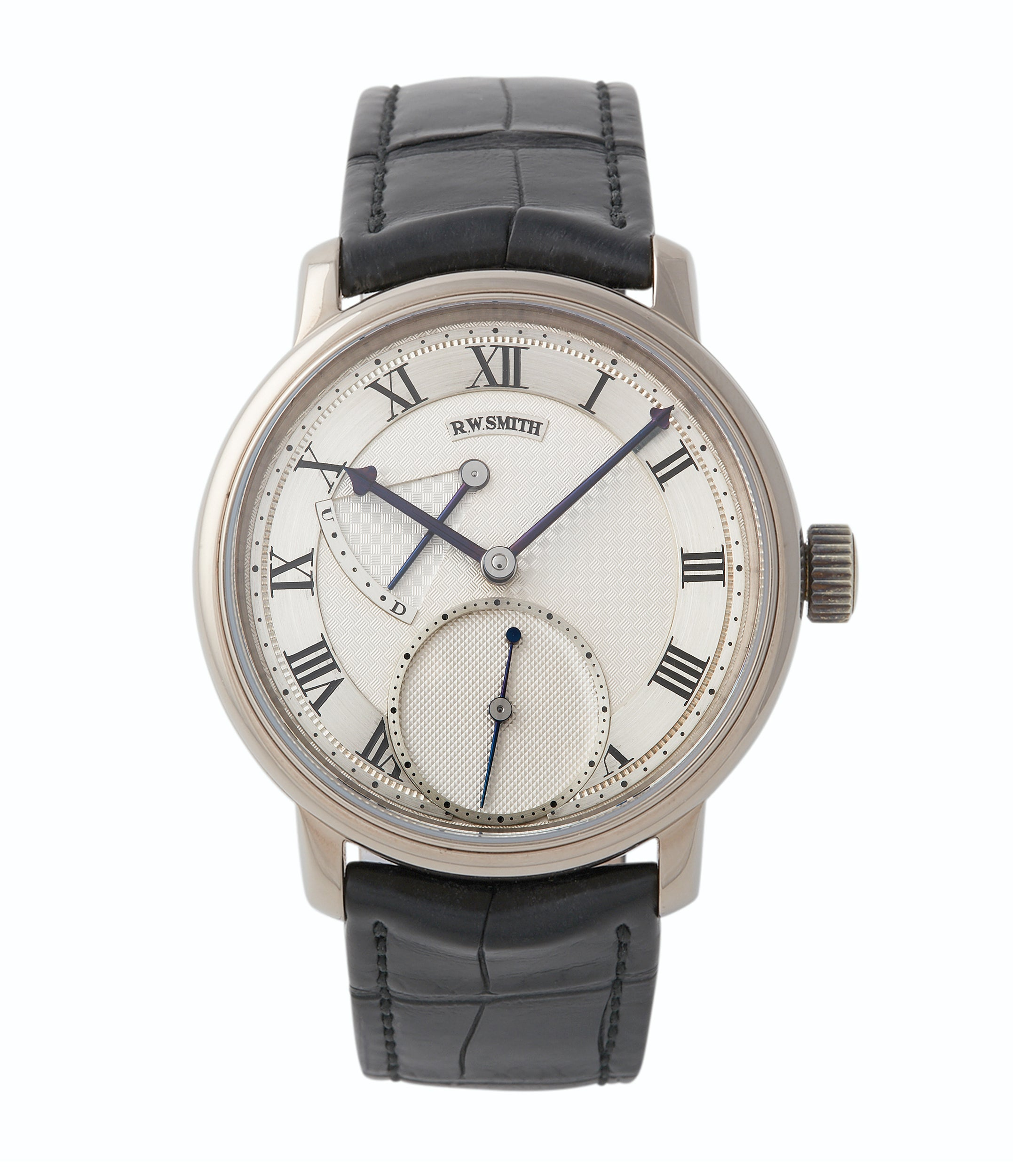 buy Roger W. Smith Series 2 white gold Edition 3 Number 1 pre-owned dress watch for sale A Collected Man London