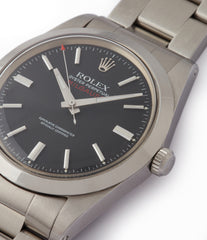 sell Rolex Milgauss 1019 steel antimagnetic tool watch for sale online at A Collected Man London UK specialist rare vintage Rolex watches