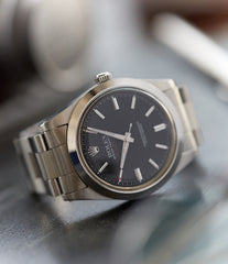 Milgauss 1019 Rolex steel antimagnetic tool watch for sale online at A Collected Man London UK specialist rare vintage Rolex watches