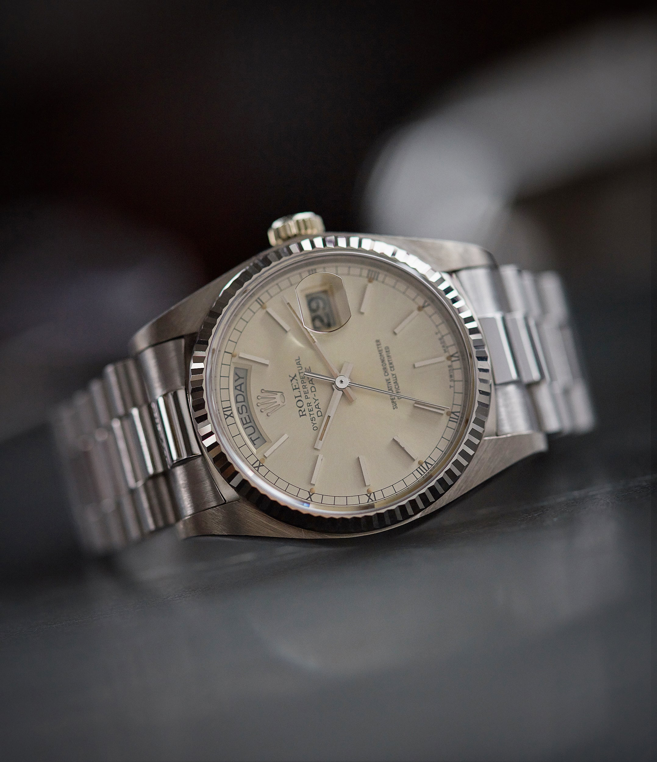 Day-Date 18039 | white gold