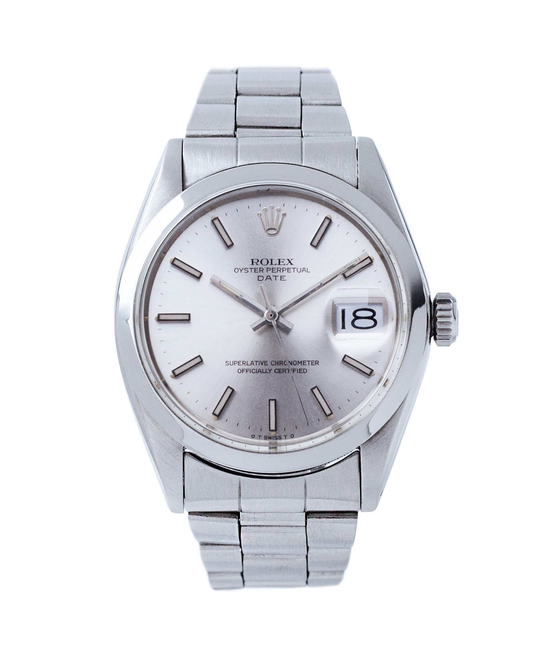 405bc16997f buy vintage Rolex Oyster Date 1500 steel vintage watch full set for sale  online at A