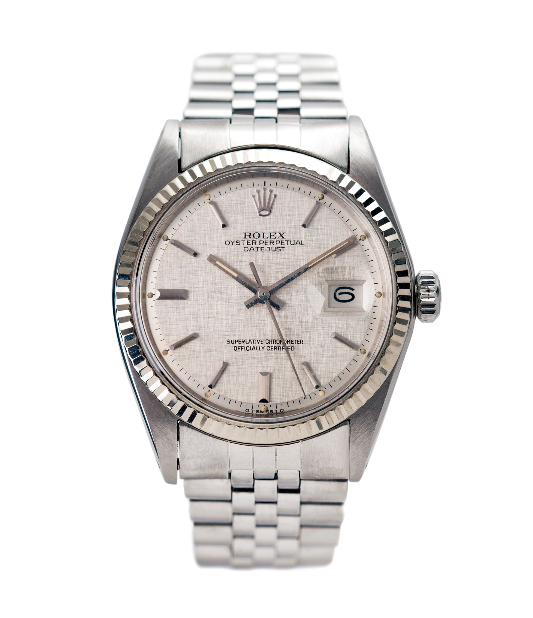 Buy rolex oyster perpetual datejust 1601 watch buy vintage rolex for Vintage rolex oyster