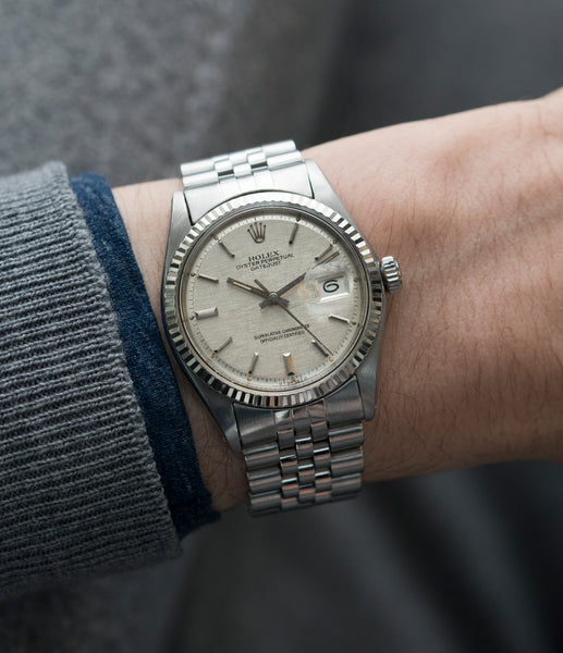 Buy Rolex Oyster Perpetual Datejust 1601 Watch Buy