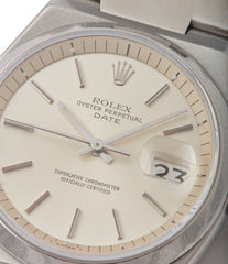 selling vintage Rolex Oyster Perpetual 1530 steel sport watch with papers for sale online at A Collected Man London UK specialist of rare watches
