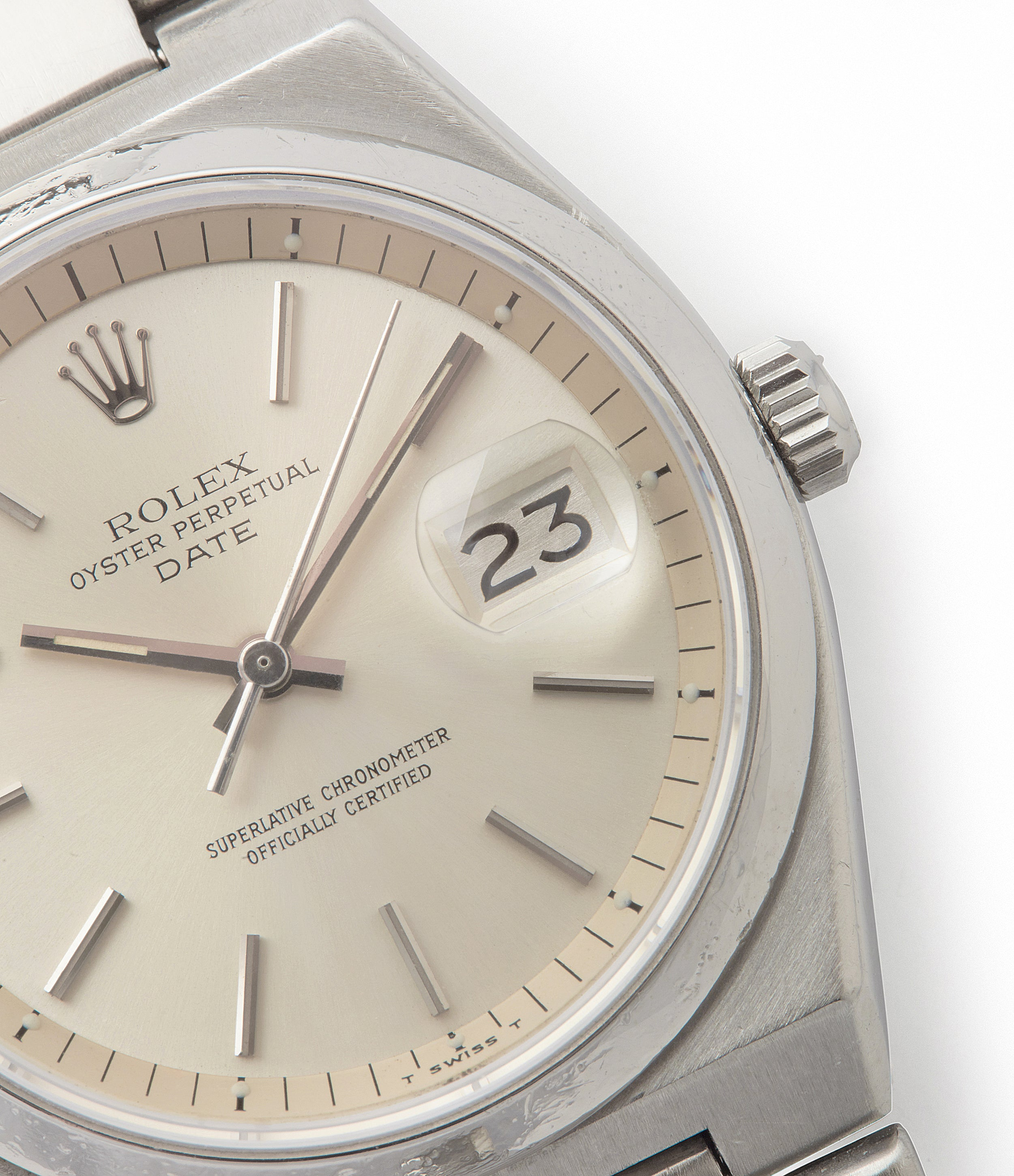 sell vintage Rolex Oyster Perpetual 1530 steel sport watch with papers for sale online at A Collected Man London UK specialist of rare watches