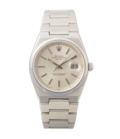 buy vintage Rolex Oyster Perpetual 1530 steel sport watch with papers for sale online at A Collected Man London UK specialist of rare watches