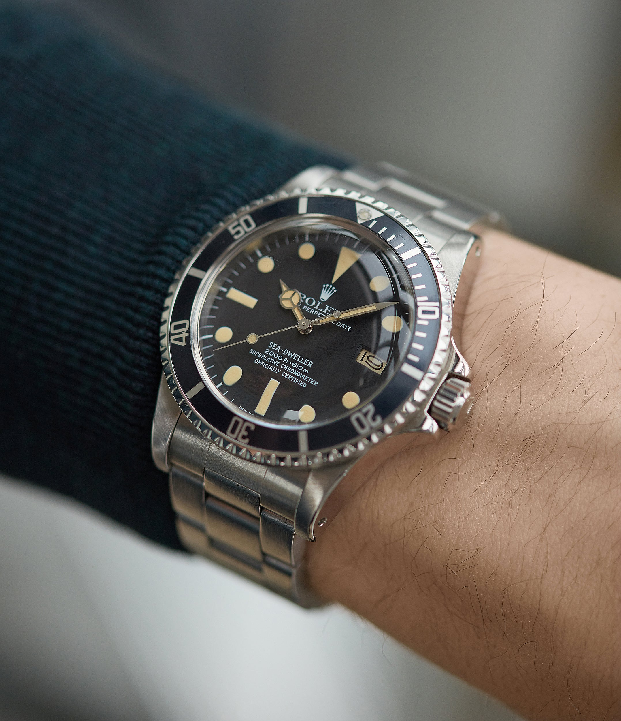 vintage Buy Rolex Sea-Dweller Great White ref 1665
