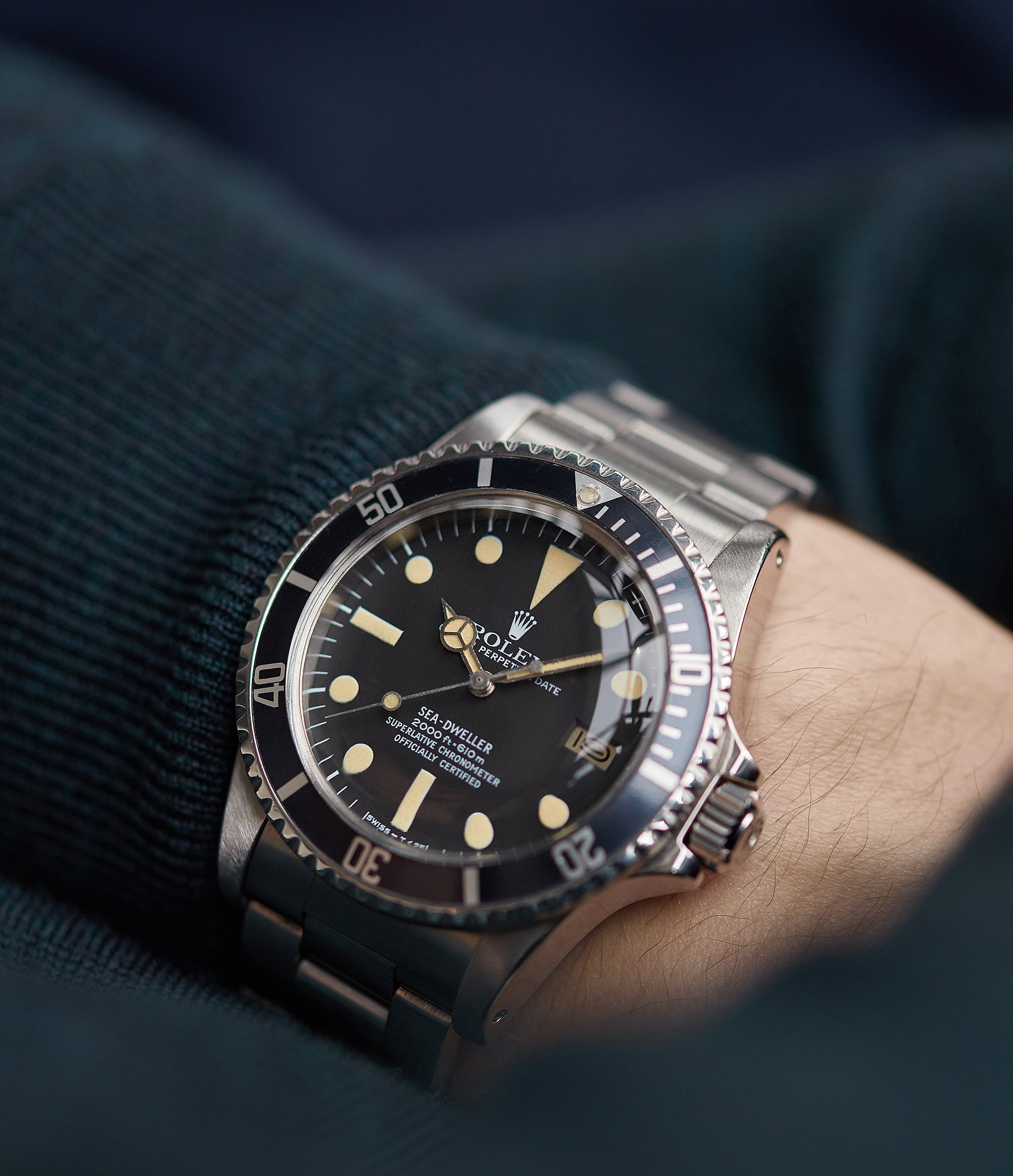 selling Rolex Sea-Dweller Great White 1665 caliber 1570