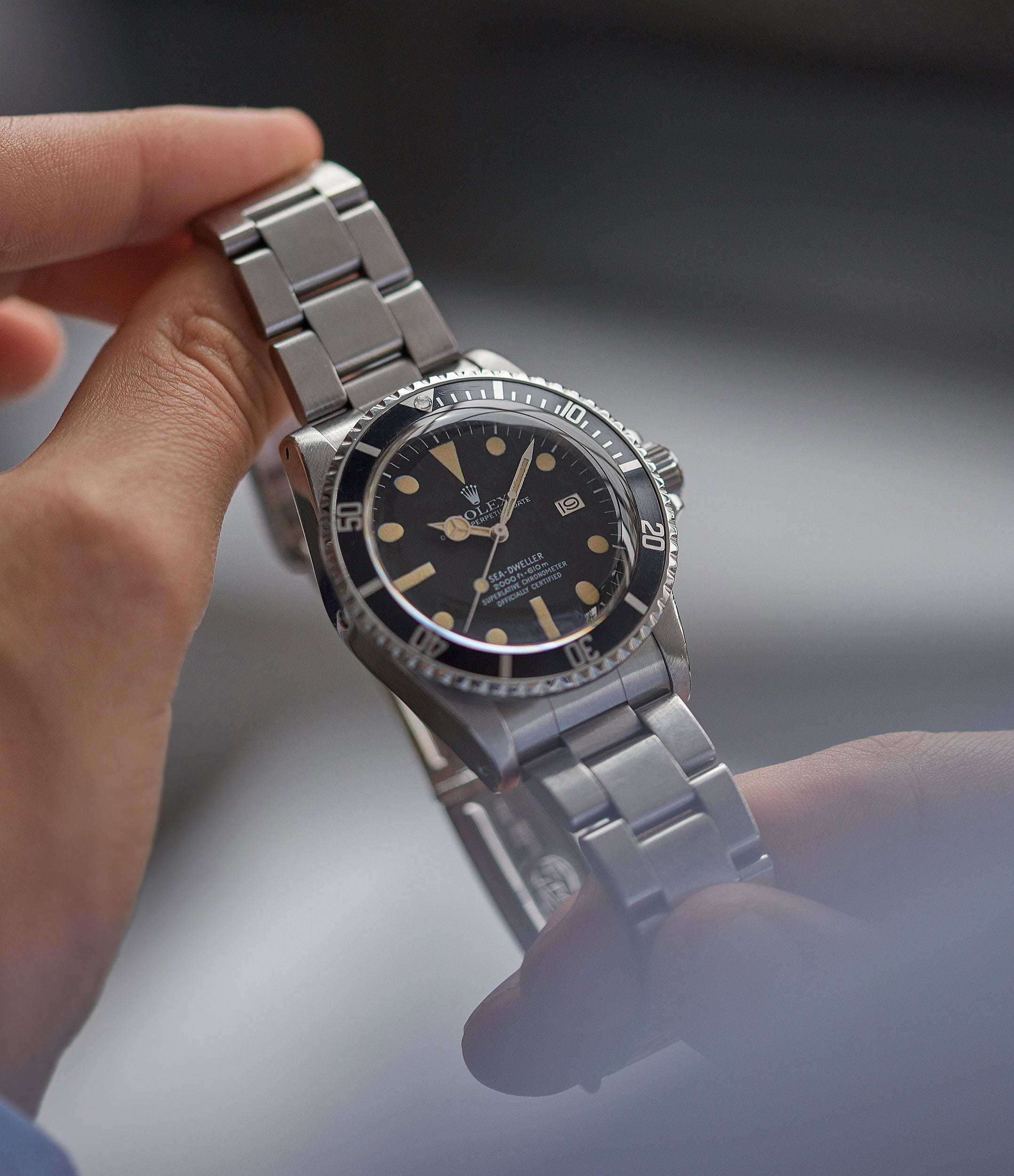 Buy Rolex Sea-Dweller Great White 1665 stainless steel