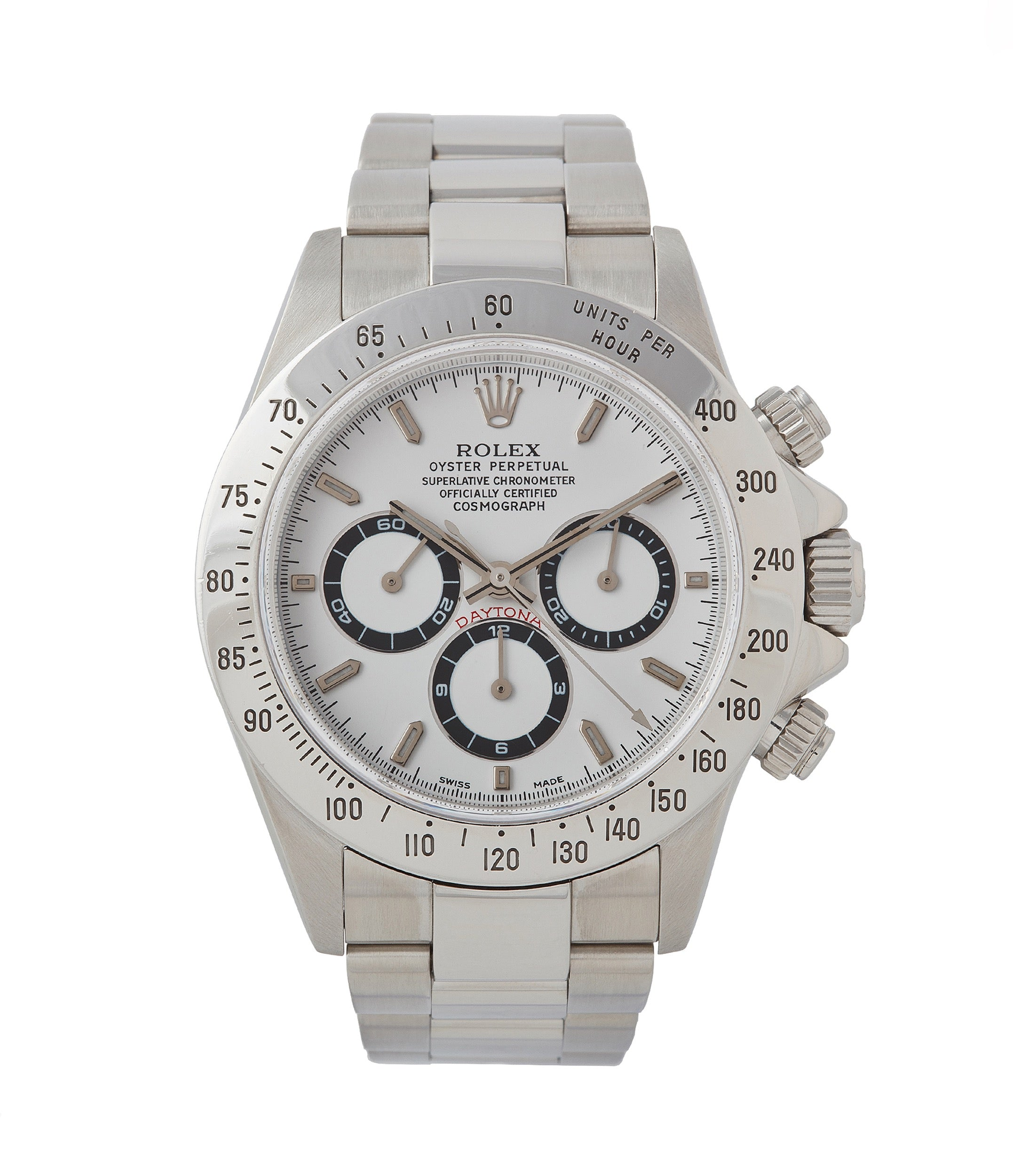 buy Rolex Daytona 16520 Zenith steel vintage chronograph sports watch full set for sale online A Collected Man London specialist rare watches
