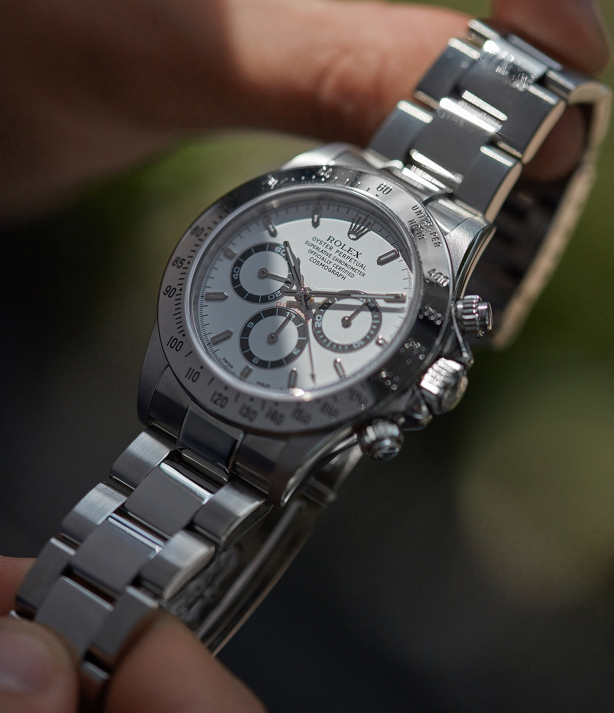 selling luxury stainless steel Rolex Zenith Daytona 16520 caliber 4030