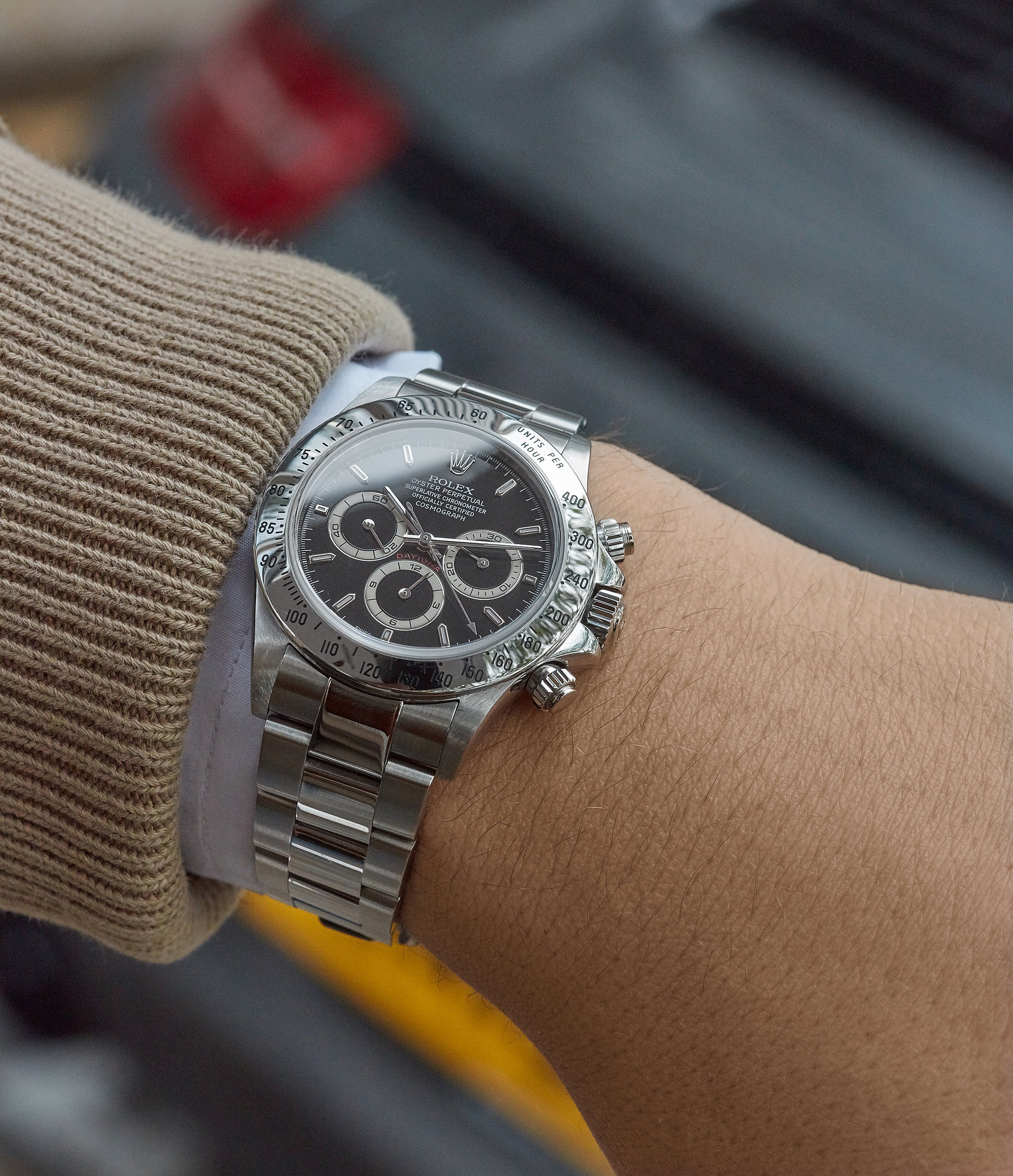 purchase Rolex Zenith Daytona 16520 stainless steel