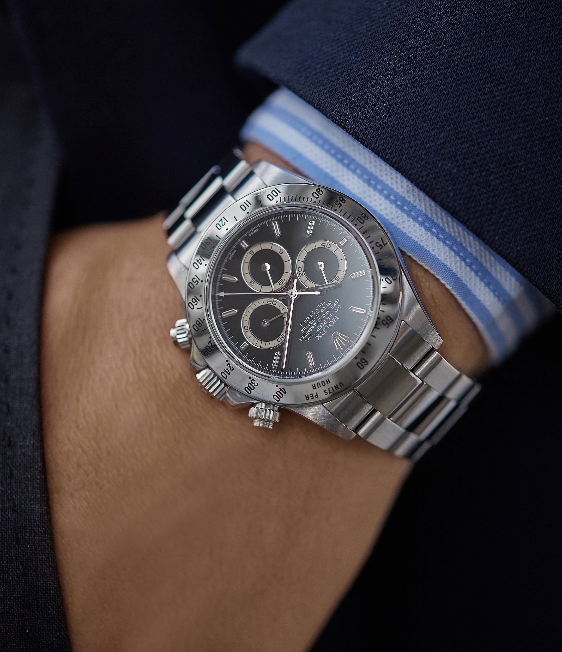 purchase automatic vintage 40mm p series Rolex Zenith Daytona 16520