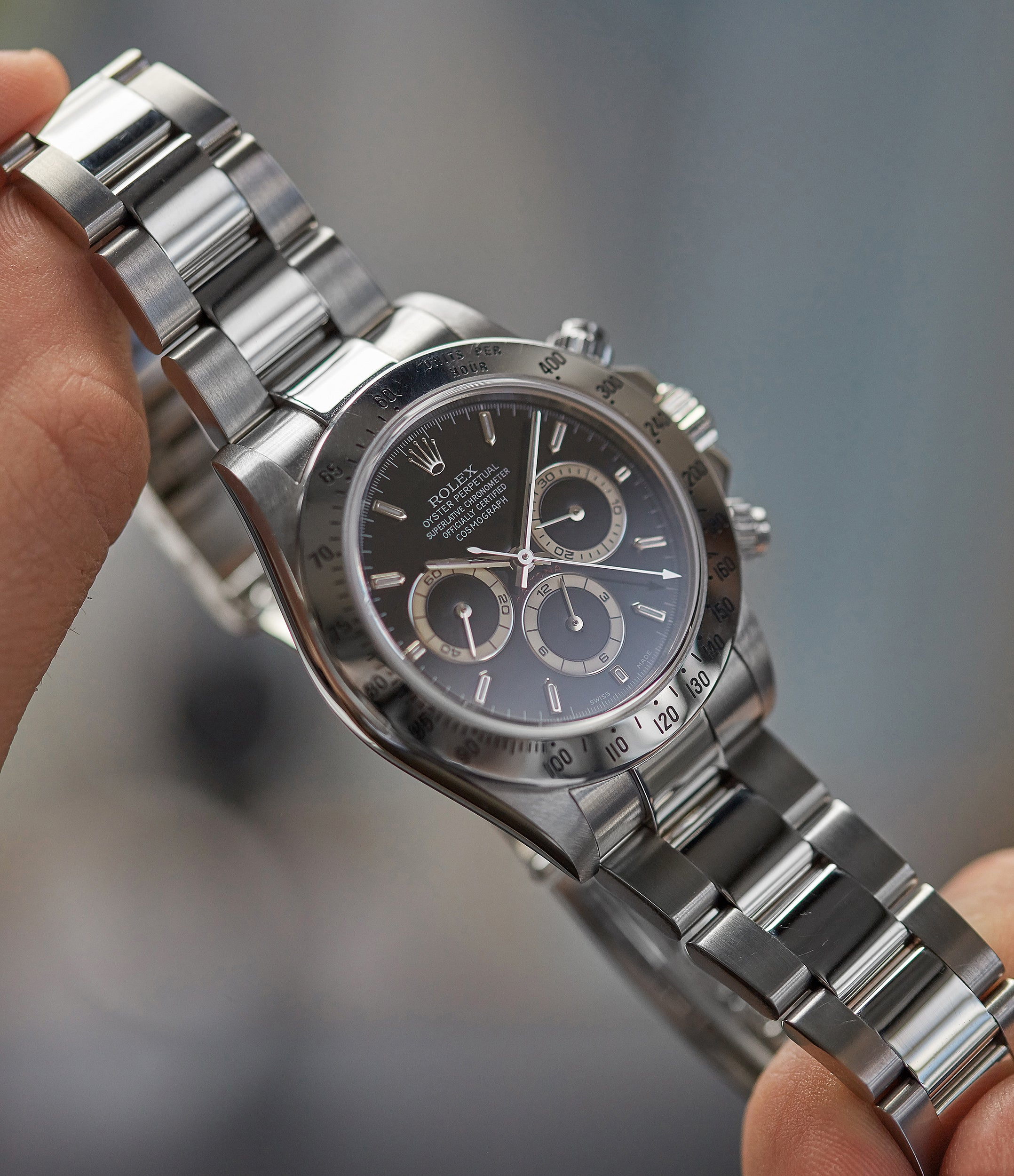 purchase stainless steel oyster bracelet Rolex Zenith Daytona 16520